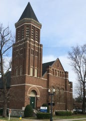 The historic former First United Methodist Church in downtown Murfreesboro.