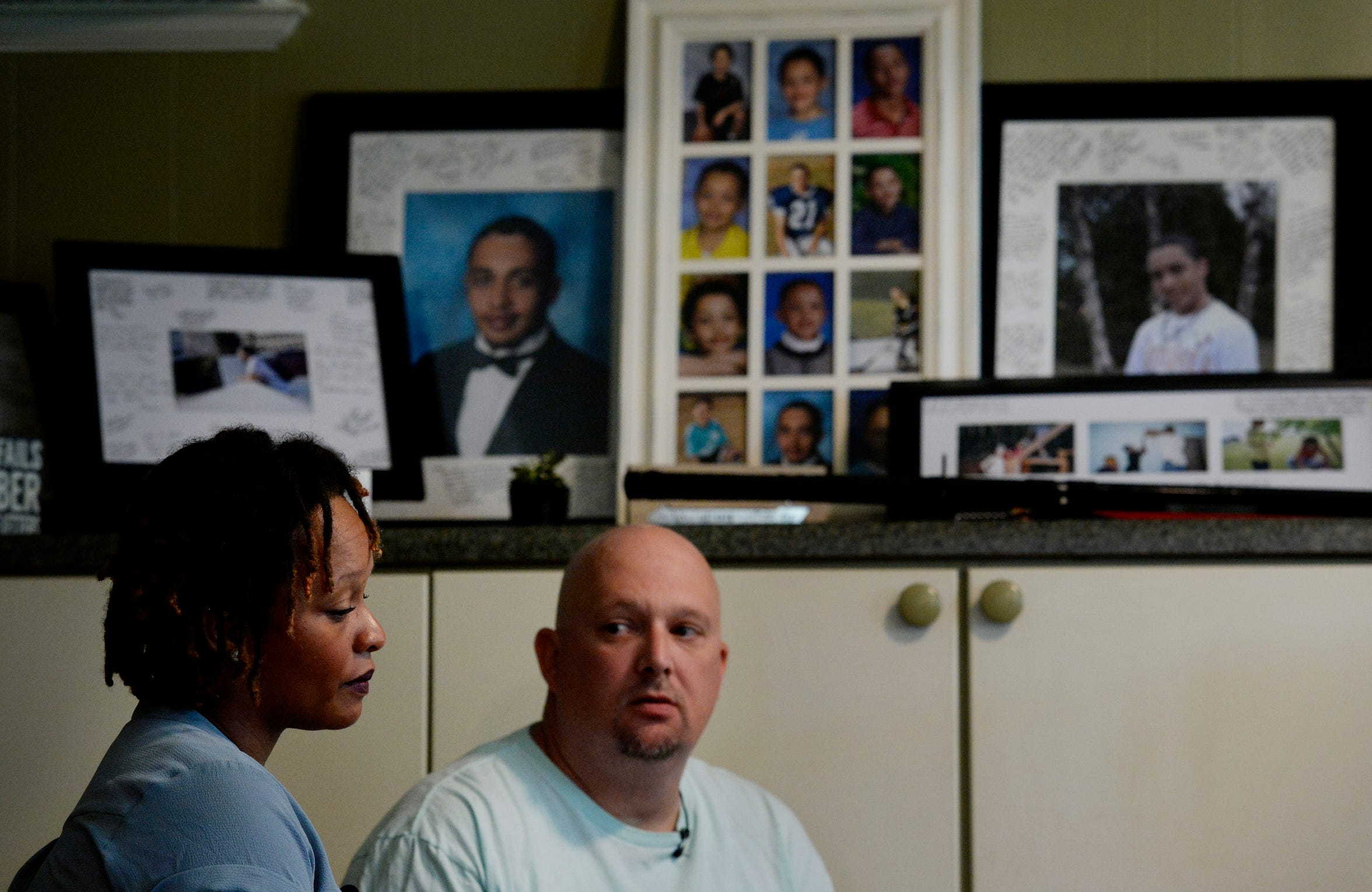 """Rachel and Michael Blado talk about their son, Josh Holton, who died in 2016 of a fentanyl overdose after buying what he thought was Xanax online. """"I think Josh was self-medicating but not explaining to his friends what was really going on,"""" Rachel Blado said. """"He was inexperienced, and he found something he didn't know was dangerous. And it killed him."""""""