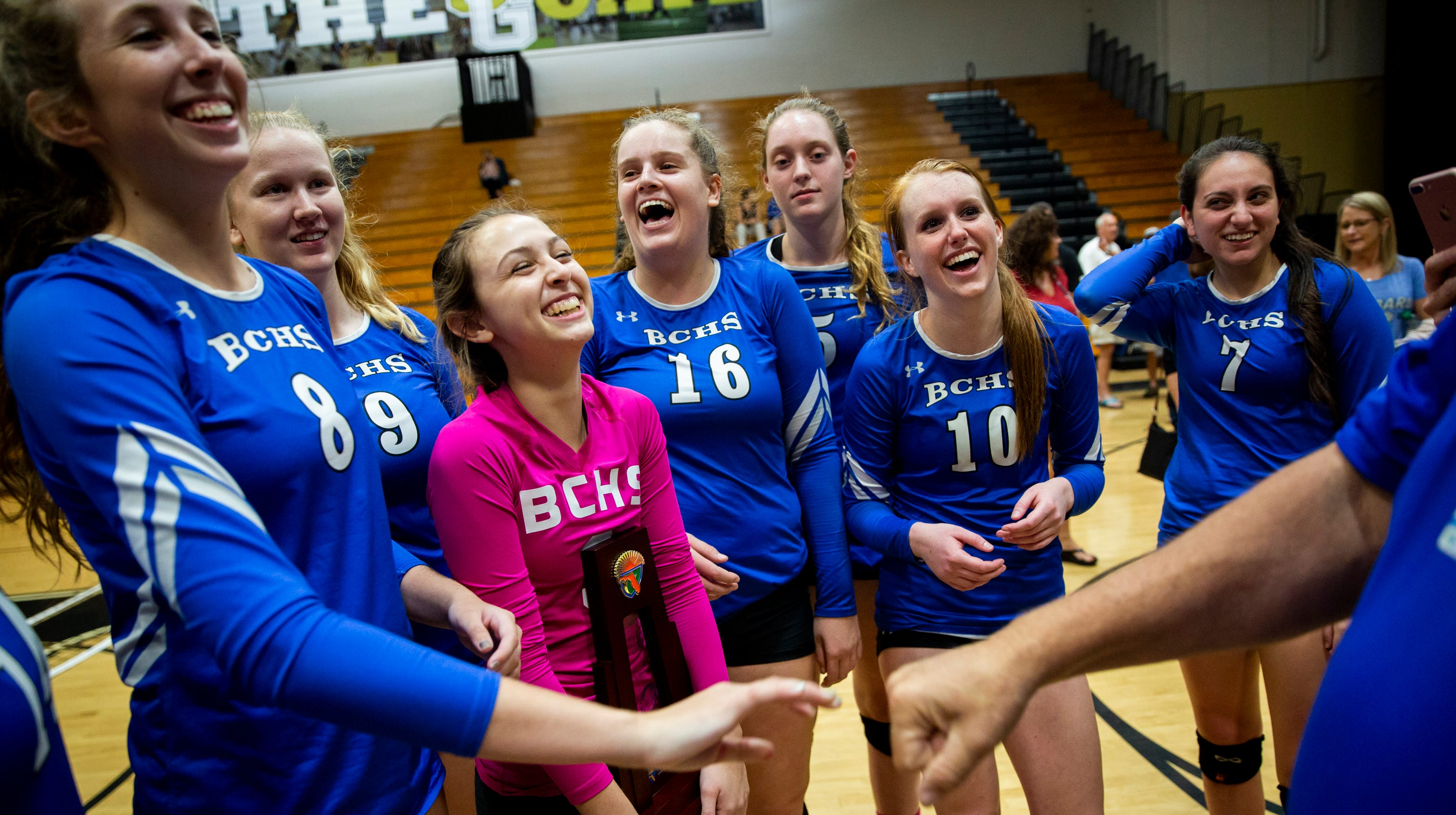 High school volleyball roundup: Barron Collier, First Baptist, Lely win district titles