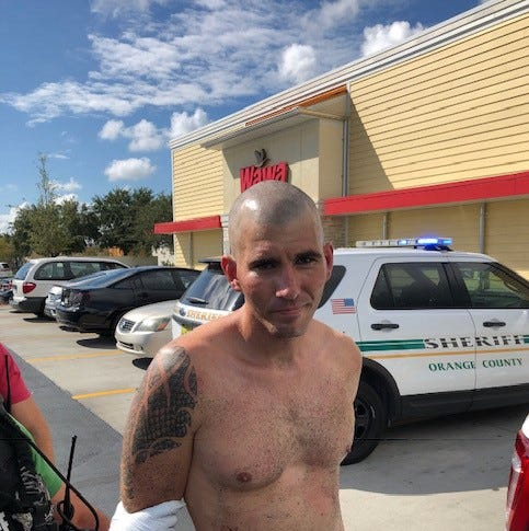 Fugitive suspect captured in Orlando, accused of killing man found in Naples Park
