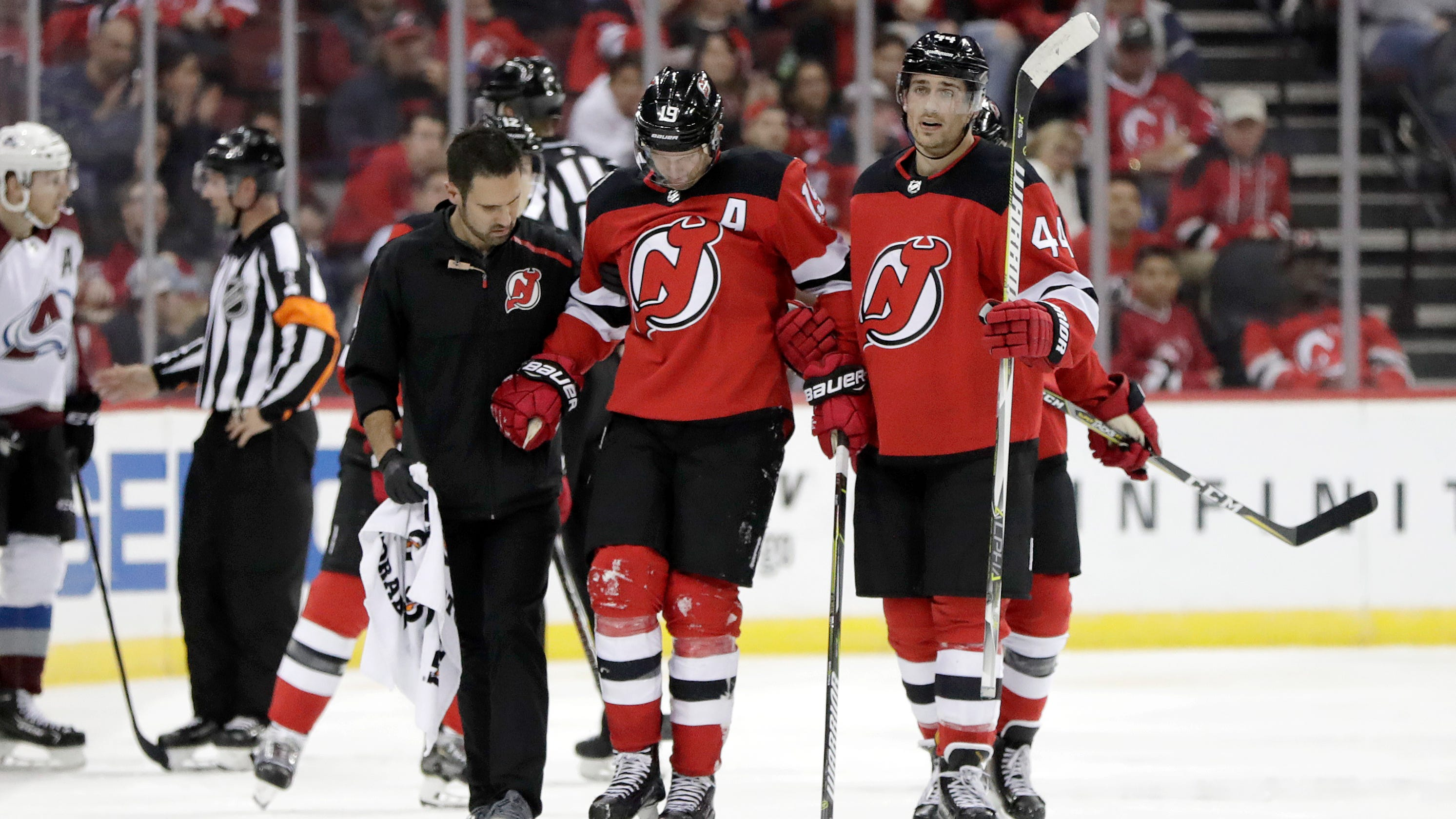 Why the NJ Devils are looking for Travis Zajac to return d85fd6095
