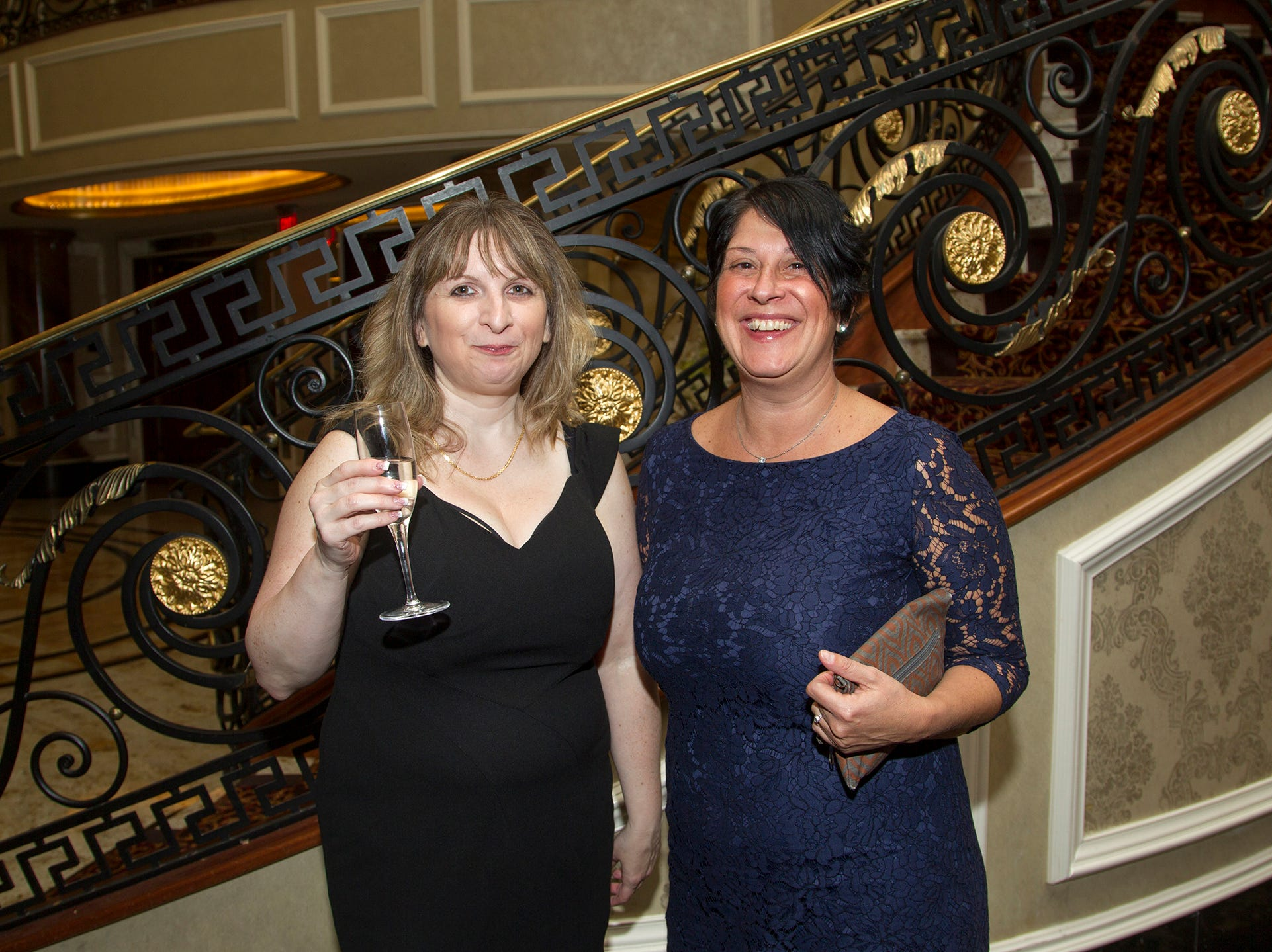 Cindy O'Donell, Laura Oliviero. Christian Health Care Center held its ' A Celebration of Excellence' gala at the Venetian in Garfield.  10/17/2018