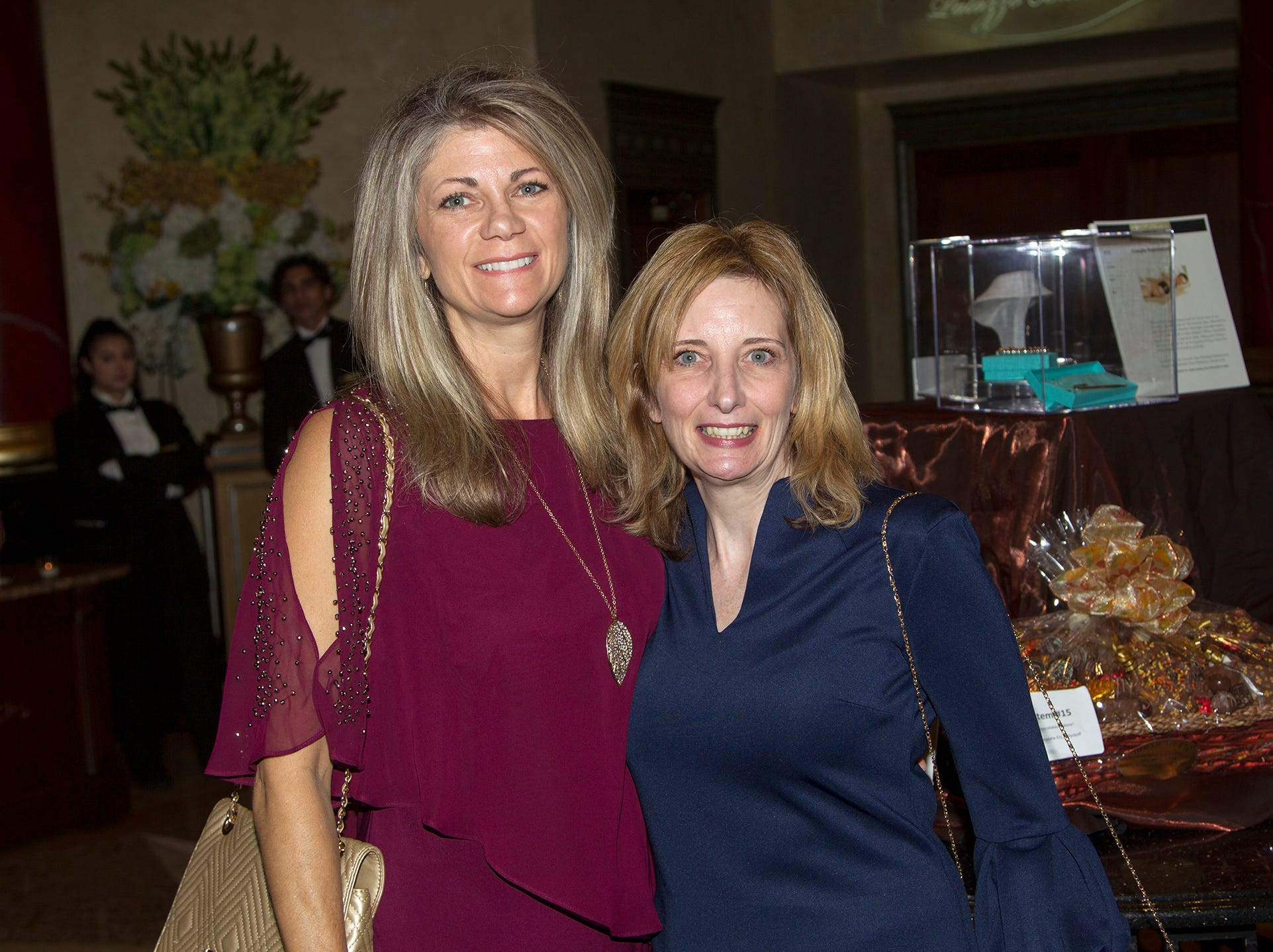 Michelle Herbst, Christine Cassidy. Christian Health Care Center held its ' A Celebration of Excellence' gala at the Venetian in Garfield.  10/17/2018