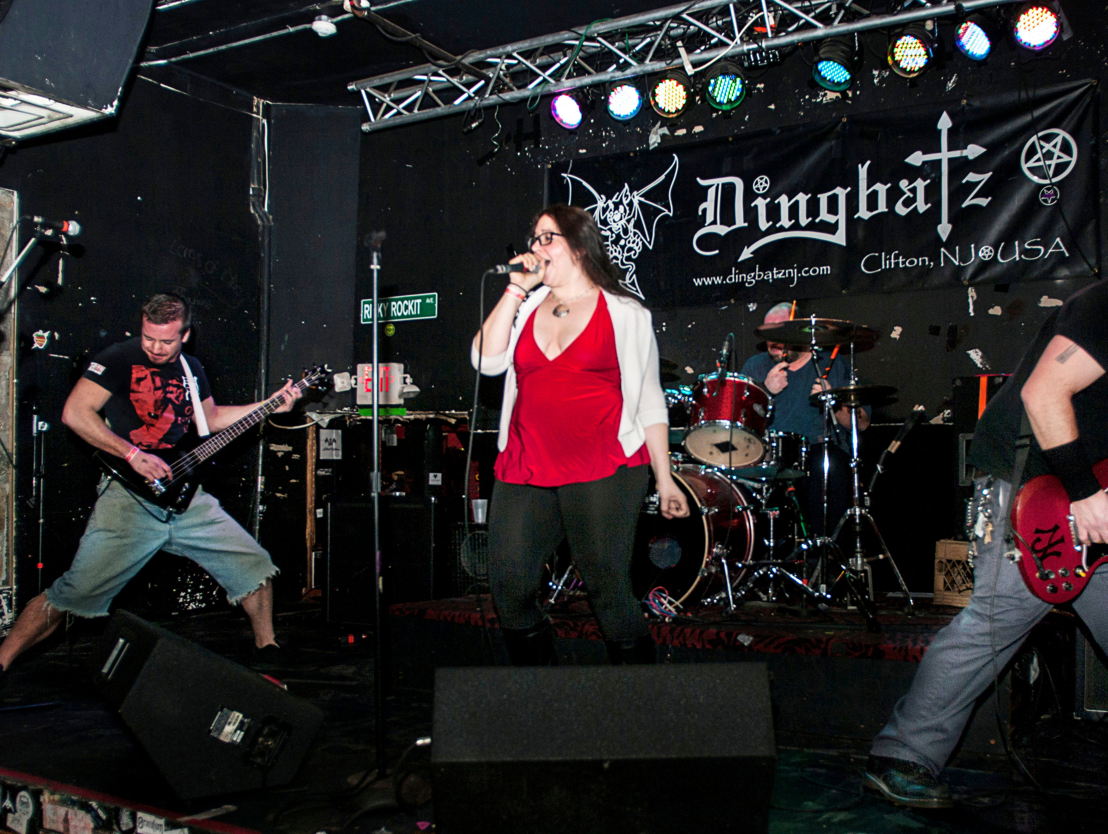 In 2014 Dingbatz hosted a holiday benefit concert where toys were collected to benefit Toys For Tots as part of the admission fee.