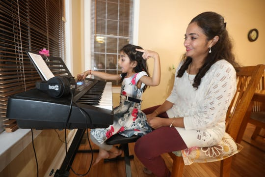 """NirupamaParmar used her H-4 work permitto starta business directory website from her home inMercer County. """"My view is that the H4 EAD creates more employment,'' said Parmar, whosedaughter, Kayra Chavda, 5,wasborn in the United States."""