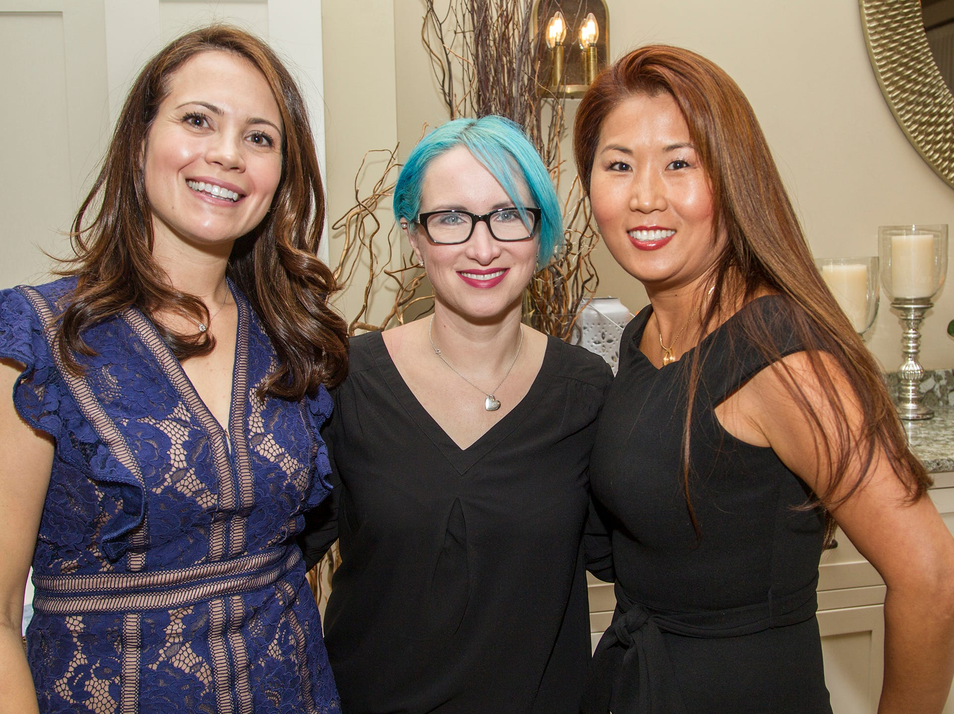 Concetta Callahan, Christine Norflus, Krystal Choi. Spring Lake Toys Foundation held its 3rd annual fundraising gala luncheon at Indian Trail Club in Franklin Lakes. The luncheon fundraiser raises funds for children with illnesses. 10/18/2018