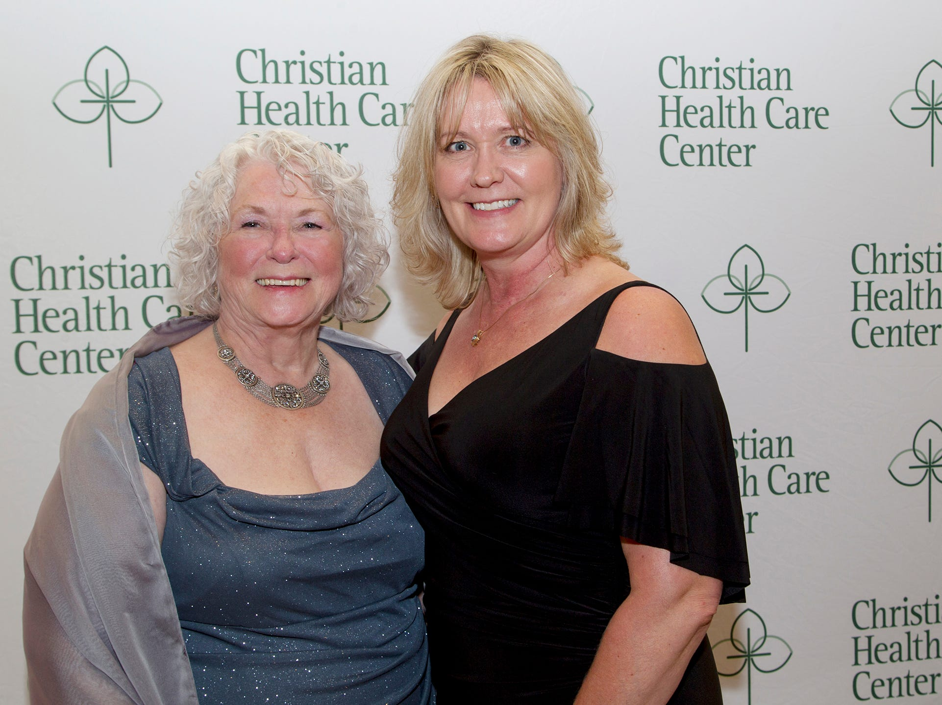 Patti Robetson, Pam Rooney. Christian Health Care Center held its ' A Celebration of Excellence' gala at the Venetian in Garfield.  10/17/2018