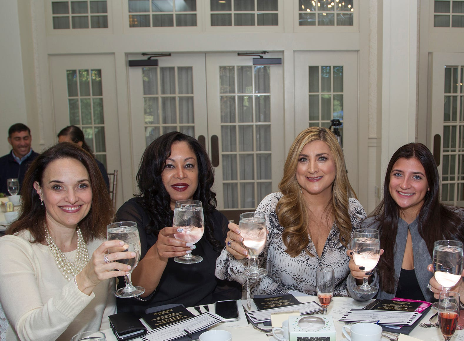 Sarah Walton, Marlyn Garcia, Antonella Romano, Heather Maniscalco, Lisa Lieber-Wang. Spring Lake Toys Foundation held its 3rd annual fundraising gala luncheon at Indian Trail Club in Franklin Lakes. The luncheon fundraiser raises funds for children with illnesses. 10/18/2018