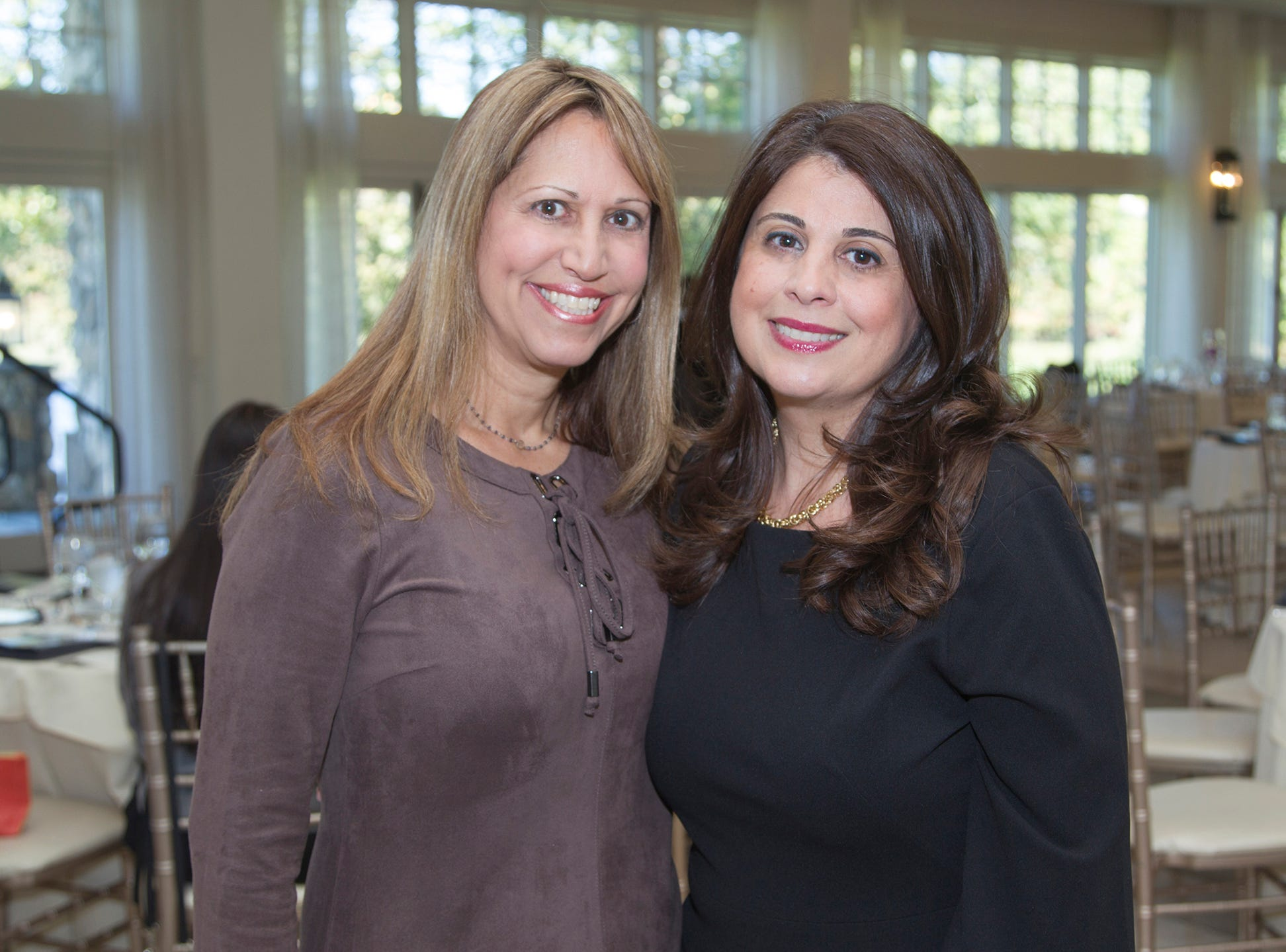 Sharon Chipolone, Hilda Hartounian. Spring Lake Toys Foundation held its 3rd annual fundraising gala luncheon at Indian Trail Club in Franklin Lakes. The luncheon fundraiser raises funds for children with illnesses. 10/18/2018