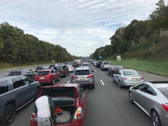 Route 80 East in Rockaway in gridlock after serious accident on Friday afternoon