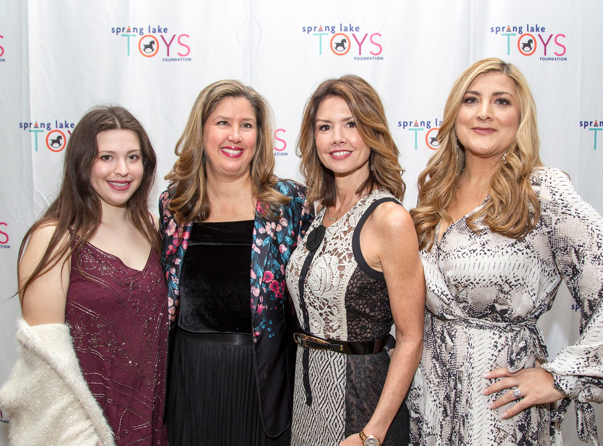 Bielle Weiner, Paulette Pera Laurenzi,Marci Hopkins, Antonetta Romano. Spring Lake Toys Foundation held its 3rd annual fundraising gala luncheon at Indian Trail Club in Franklin Lakes. The luncheon fundraiser raises funds for children with illnesses. 10/18/2018