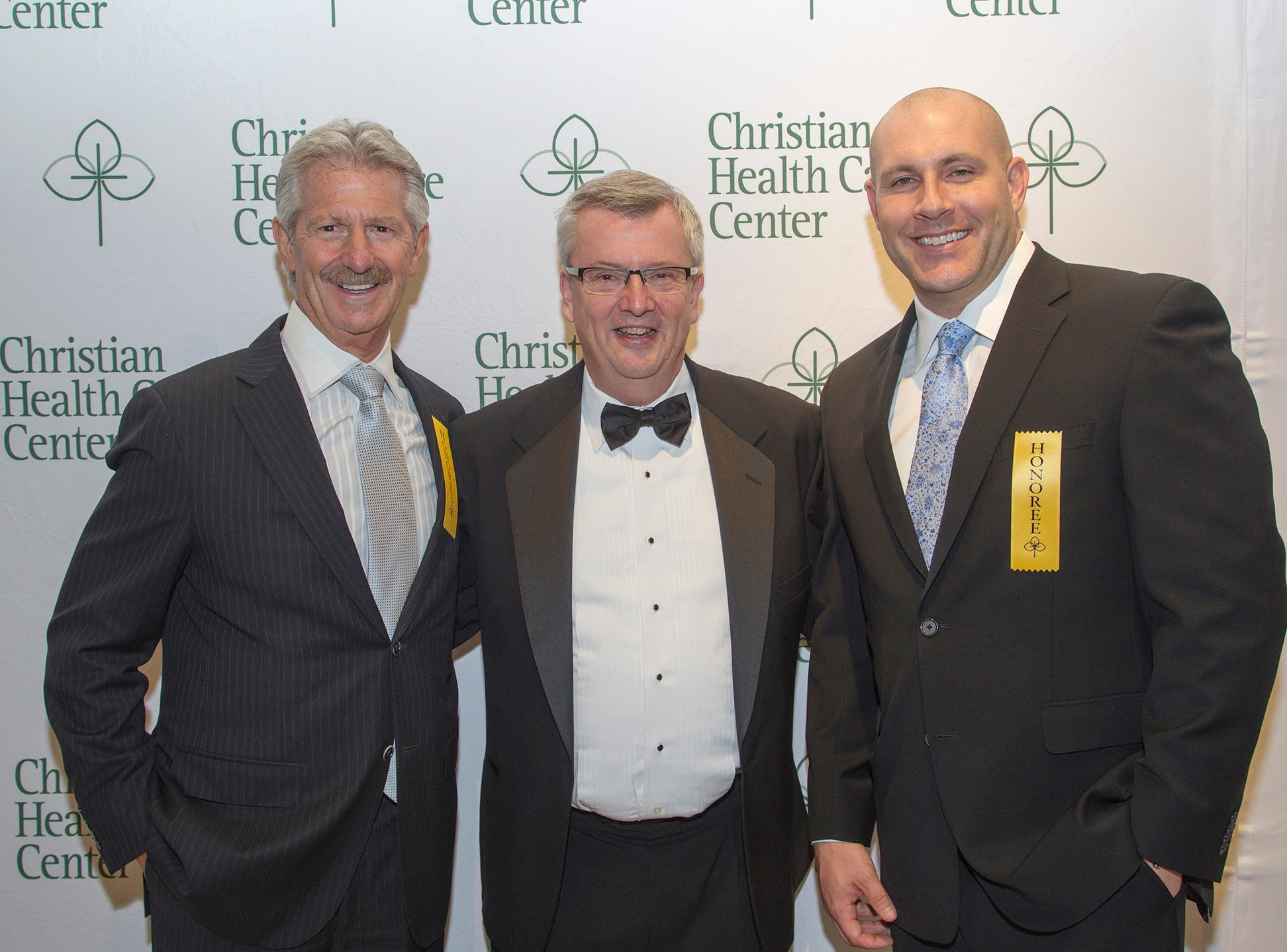 Larry Weiss, Doug Stroyk, Bill Mc Loughlin. Christian Health Care Center held its ' A Celebration of Excellence' gala at the Venetian in Garfield.  10/17/2018