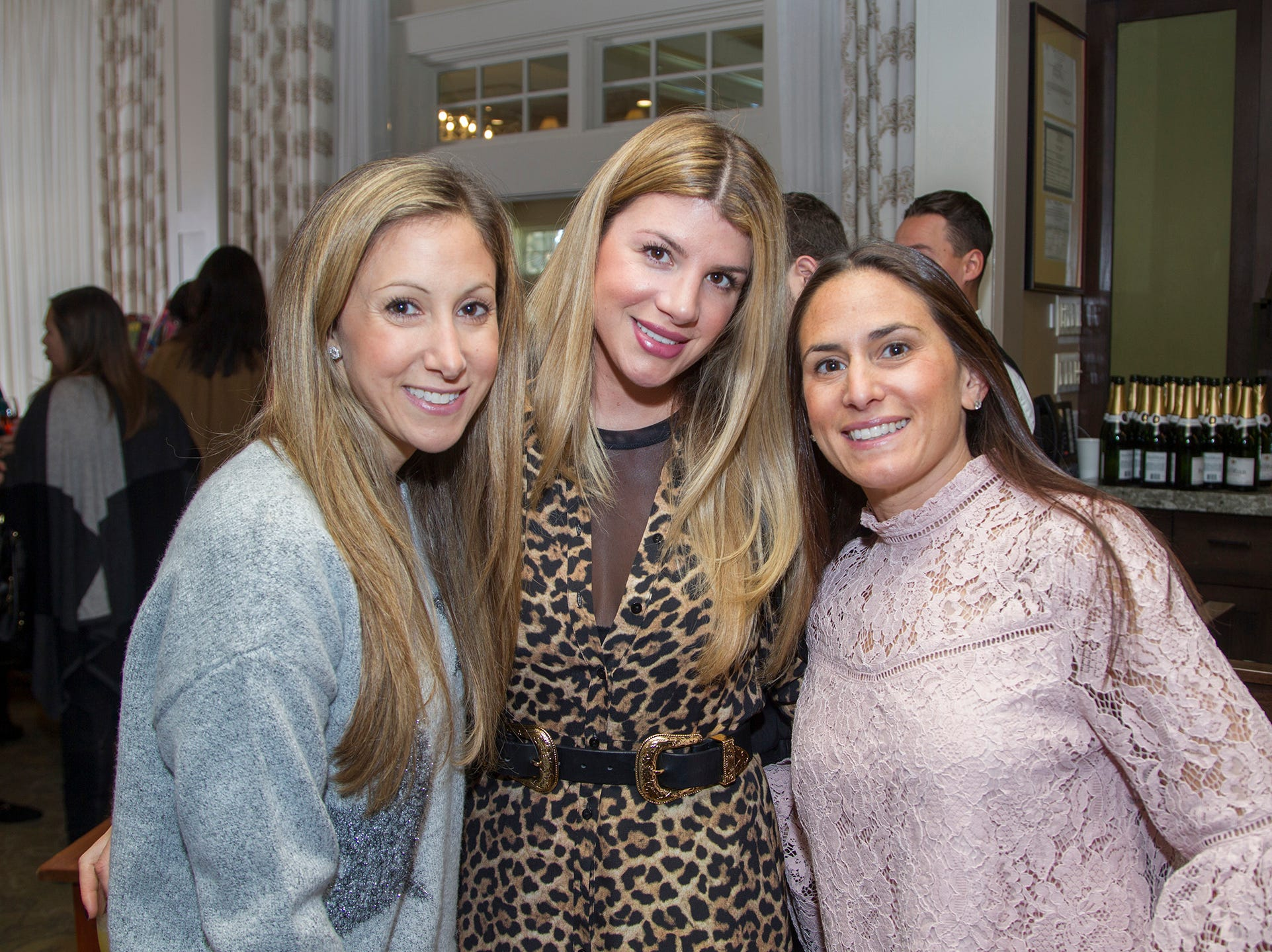 Stephanie Gurtman, Melissa Landau, Erica Fishman. Spring Lake Toys Foundation held its 3rd annual fundraising gala luncheon at Indian Trail Club in Franklin Lakes. The luncheon fundraiser raises funds for children with illnesses. 10/18/2018