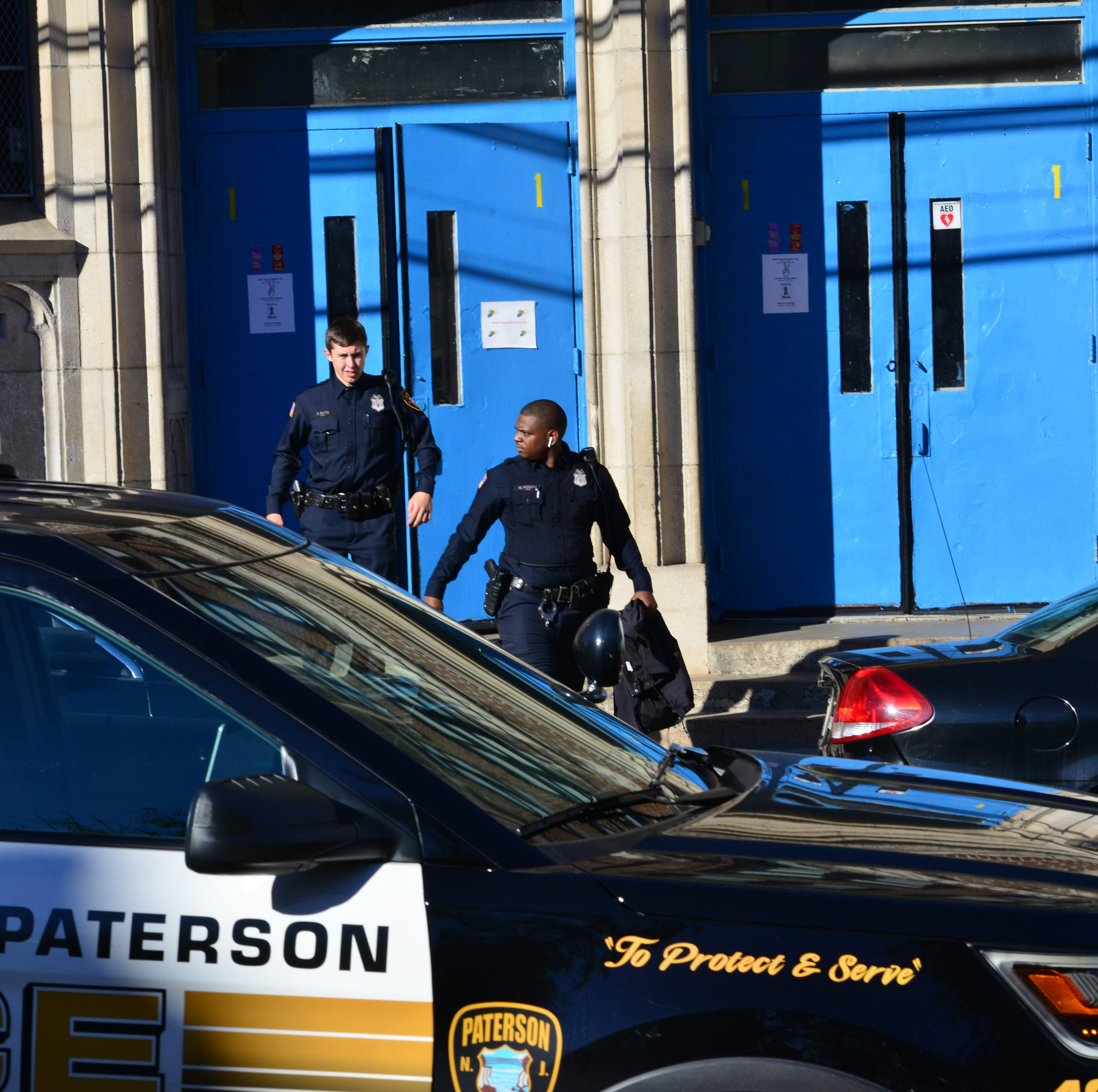 Police investigating report of an abduction near School 10 in Paterson