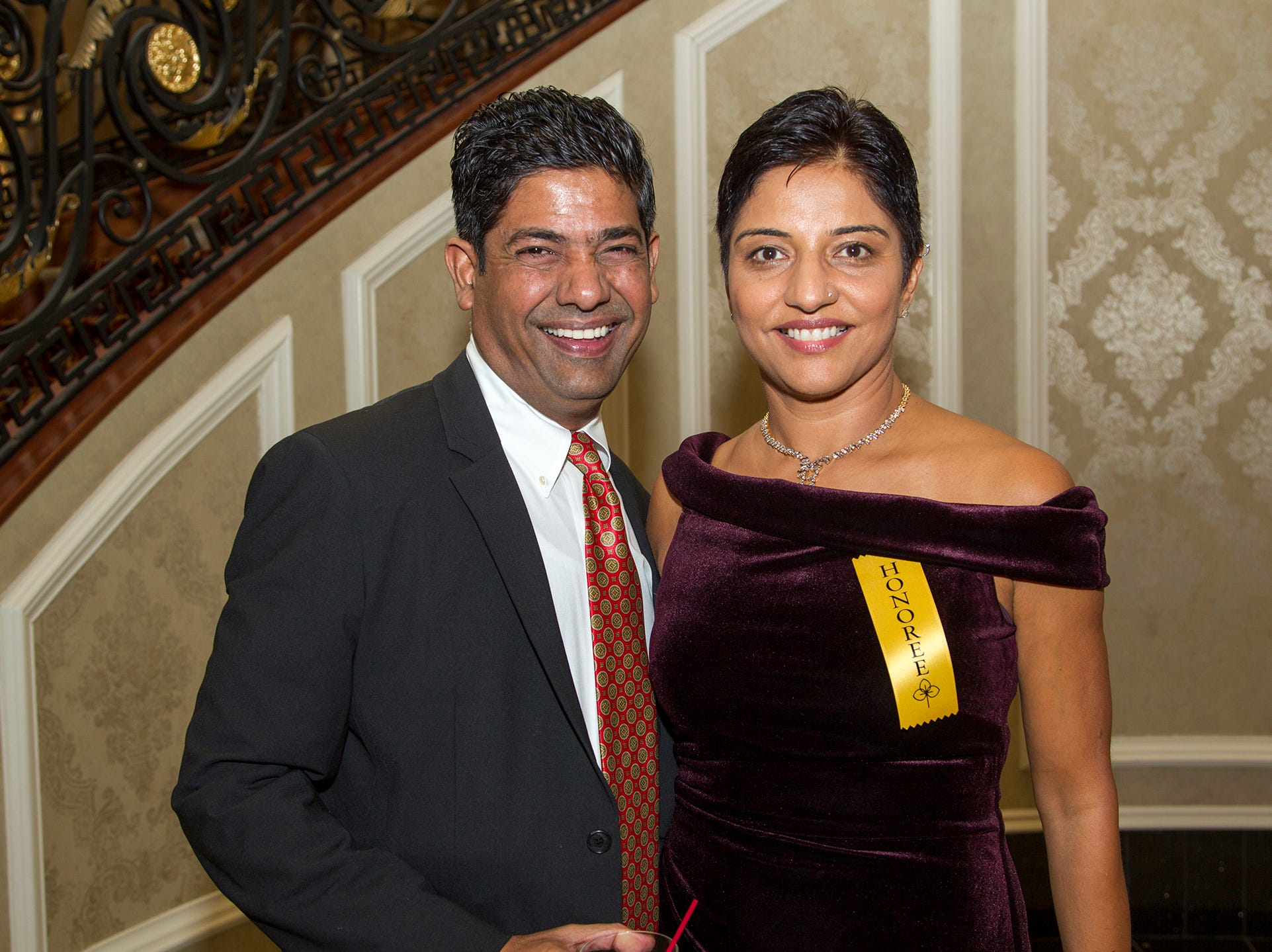 Dr. Dhingra and Dr. Reddy. Christian Health Care Center held its ' A Celebration of Excellence' gala at the Venetian in Garfield.  10/17/2018