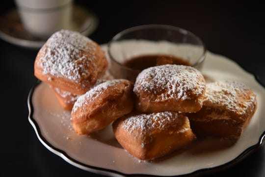 Beignets at the first 'Dinner with Esther' at No. 12 in Ridgewood on Thursday October 18, 2018.