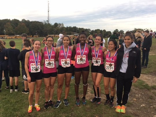 The Clifton girls cross country team repeated as Passaic County champions on Friday at Garret Mountain.