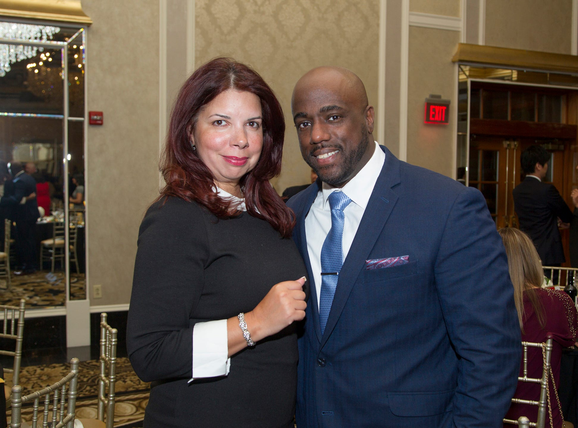 Jeanette McDonald, David Elliot. Christian Health Care Center held its ' A Celebration of Excellence' gala at the Venetian in Garfield.  10/17/2018