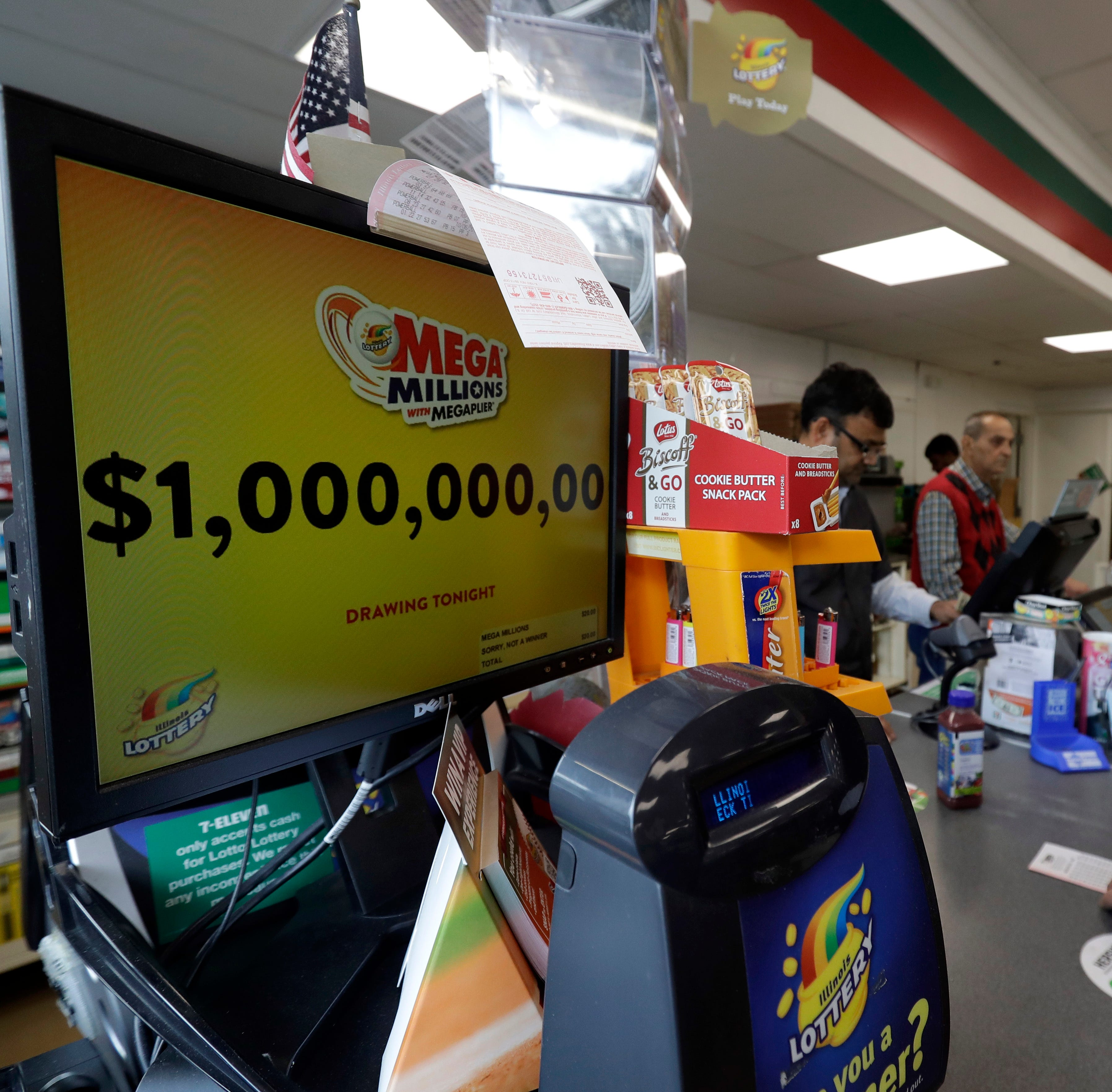 Mega Millions winning numbers for Friday, Oct. 19