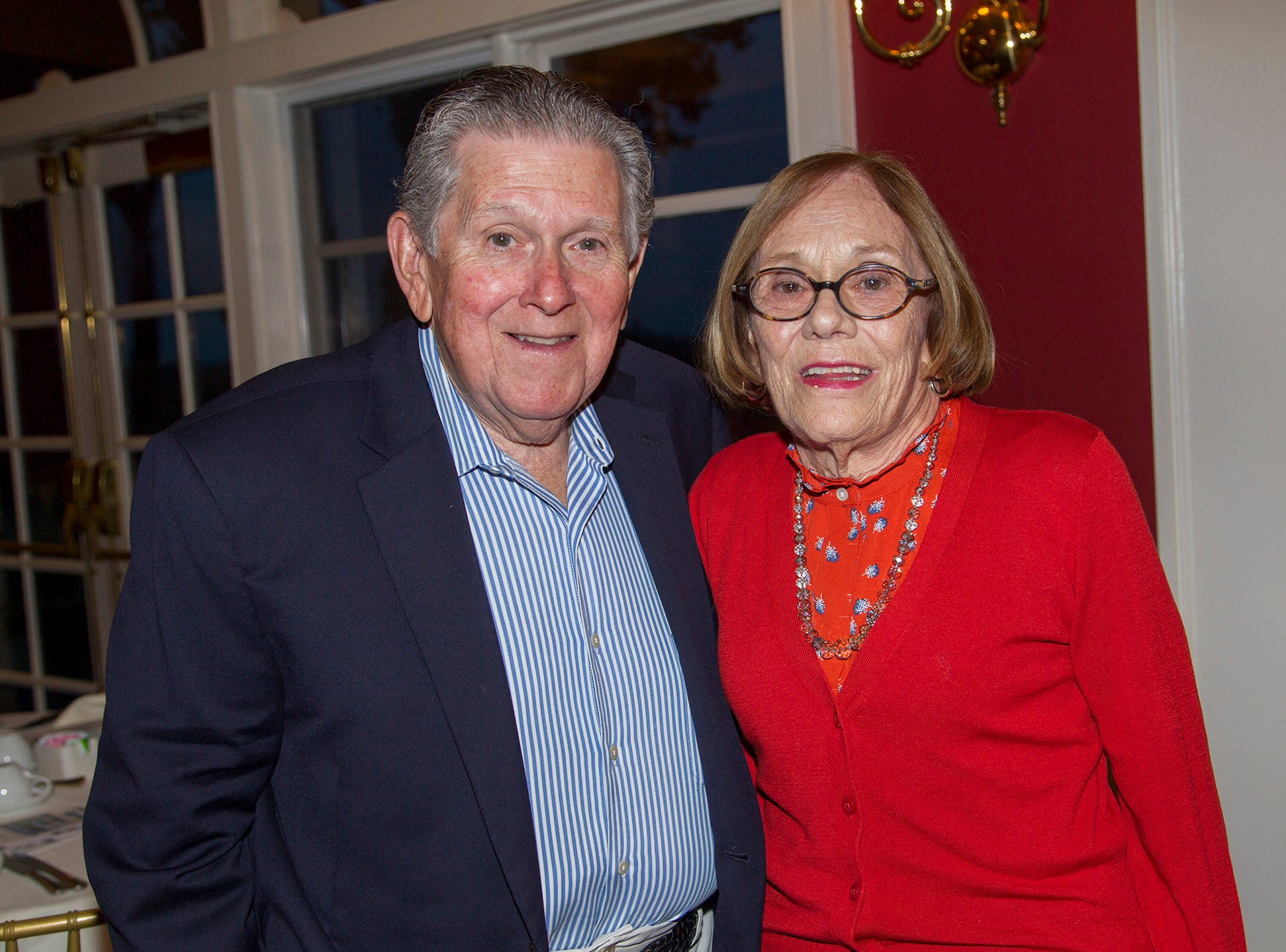 Bernie and Ann Marie Saccaro. Seventh annual AIR Express Golf Outing honoring Dr. Dante Implicito, M.D. for his service to Hackensack University Medical Center. 10/16/2018