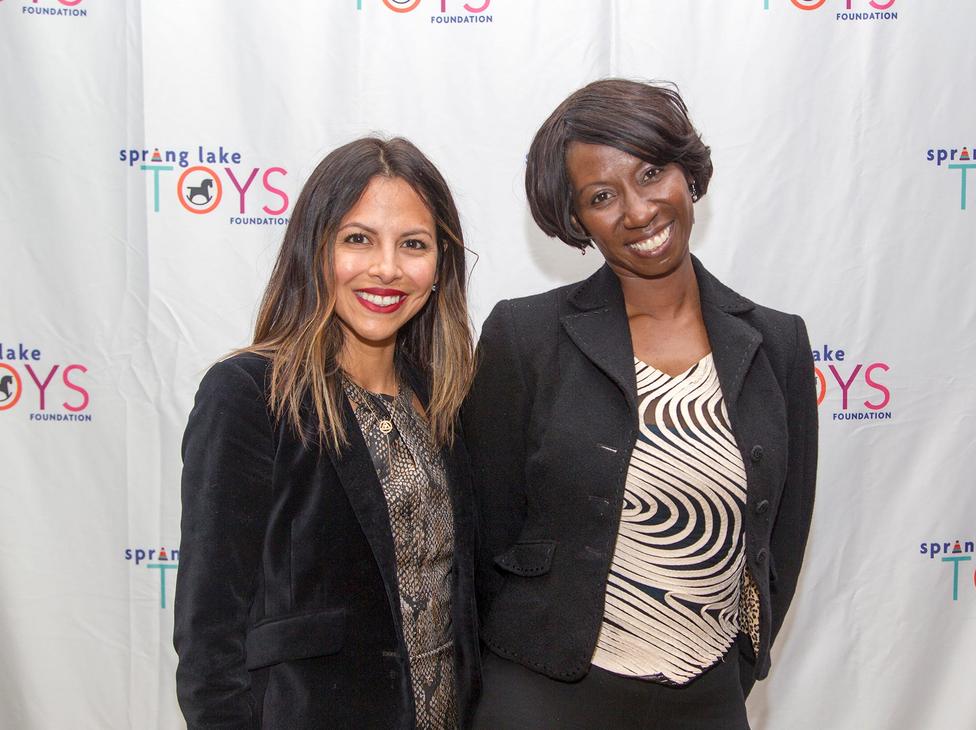 Mariel Alvarado, Kendera Jones. Spring Lake Toys Foundation held its 3rd annual fundraising gala luncheon at Indian Trail Club in Franklin Lakes. The luncheon fundraiser raises funds for children with illnesses. 10/18/2018