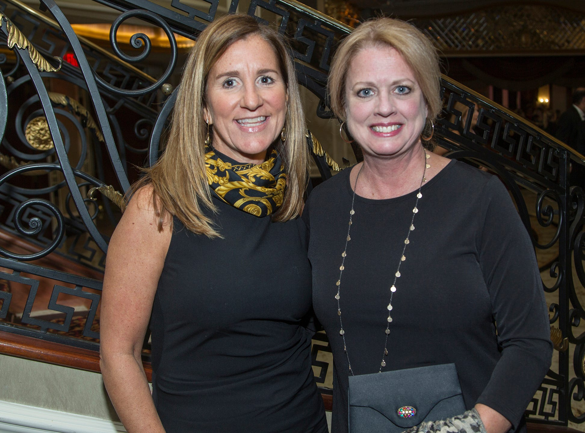 Ellen Gifford, Patty Karsian. Christian Health Care Center held its ' A Celebration of Excellence' gala at the Venetian in Garfield.  10/17/2018