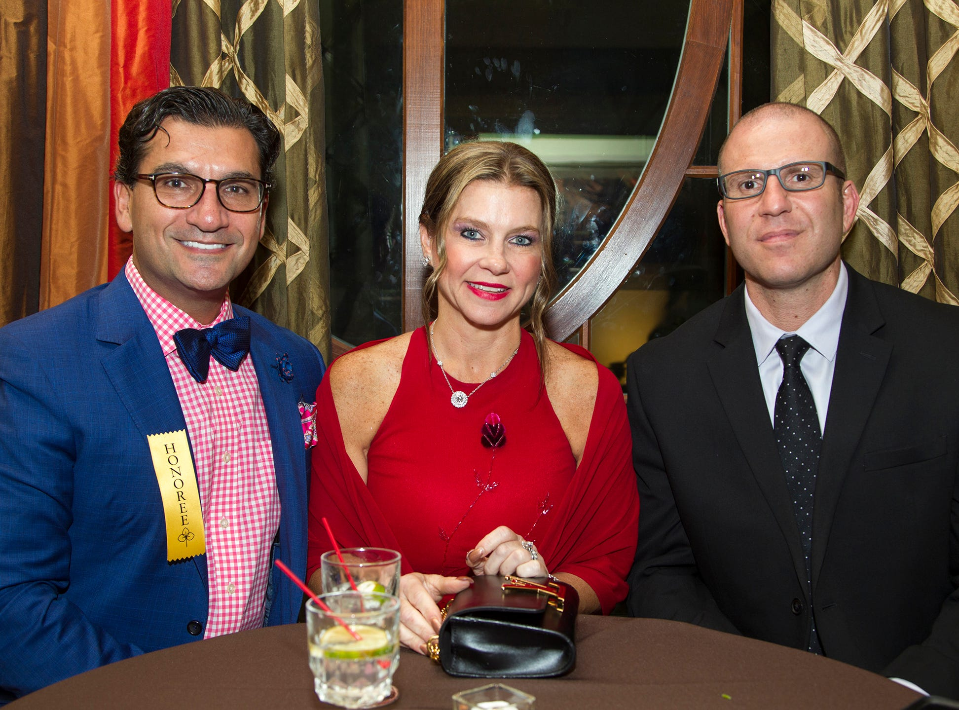 Robert A. Kayal, MD, Kim Kayal, Leon Colao. Christian Health Care Center held its ' A Celebration of Excellence' gala at the Venetian in Garfield.  10/17/2018