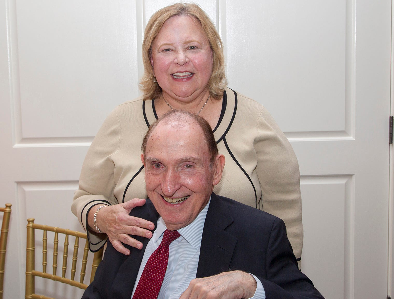Dr. MaryAnn Michelis, Dr. Michael Michelis. Seventh annual AIR Express Golf Outing honoring Dr. Dante Implicito, M.D. for his service to Hackensack University Medical Center. 10/16/2018
