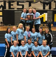 Wayne Valley repeated as Passaic County gymnastics champion.