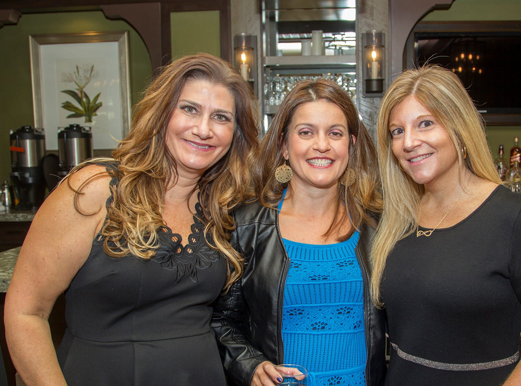 Vera Stern, Ilona Sharuk, Danielle Surmanel. Spring Lake Toys Foundation held its 3rd annual fundraising gala luncheon at Indian Trail Club in Franklin Lakes. The luncheon fundraiser raises funds for children with illnesses. 10/18/2018
