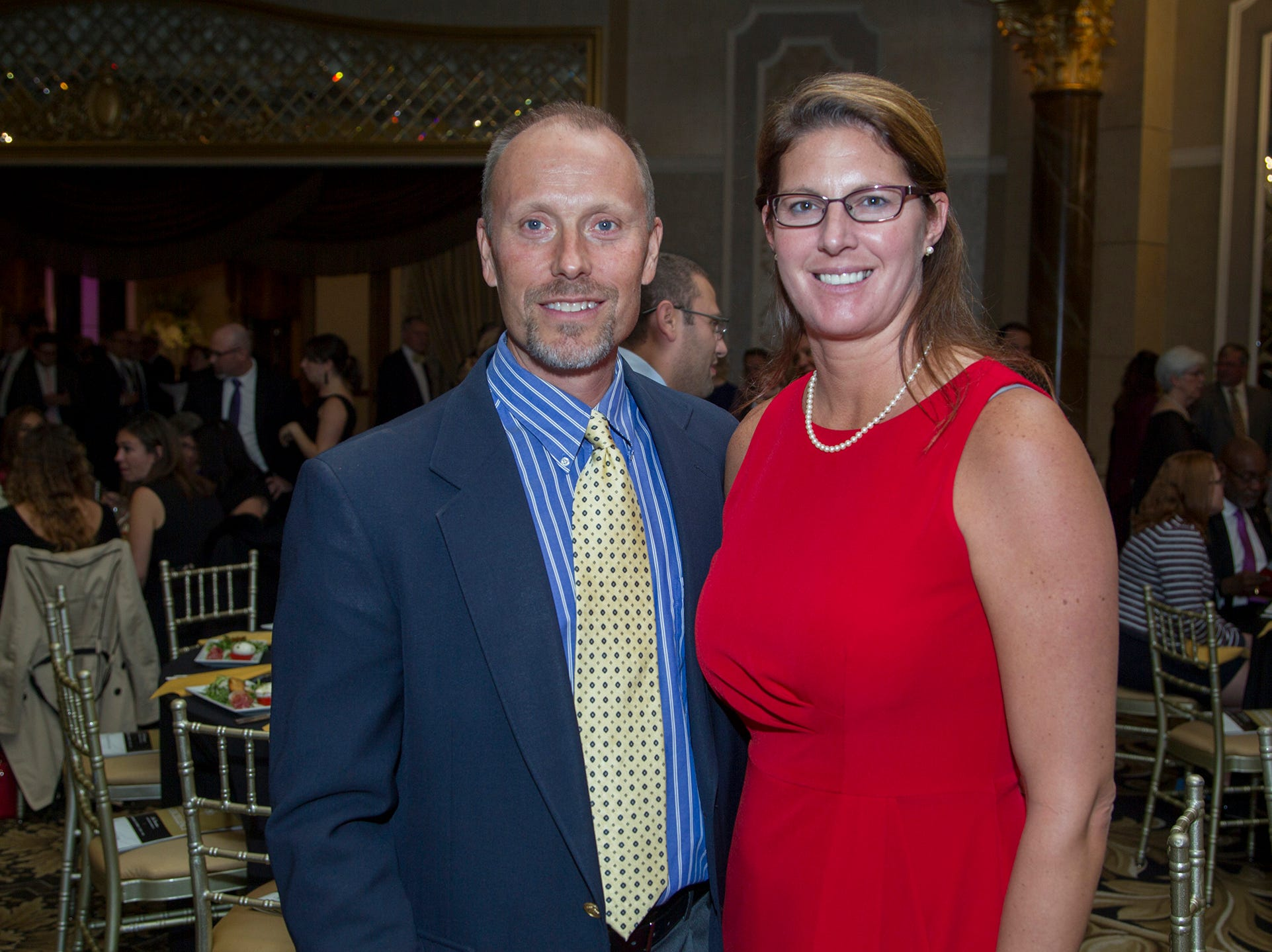 Calvin and Meghan Kwekel. Christian Health Care Center held its ' A Celebration of Excellence' gala at the Venetian in Garfield.  10/17/2018