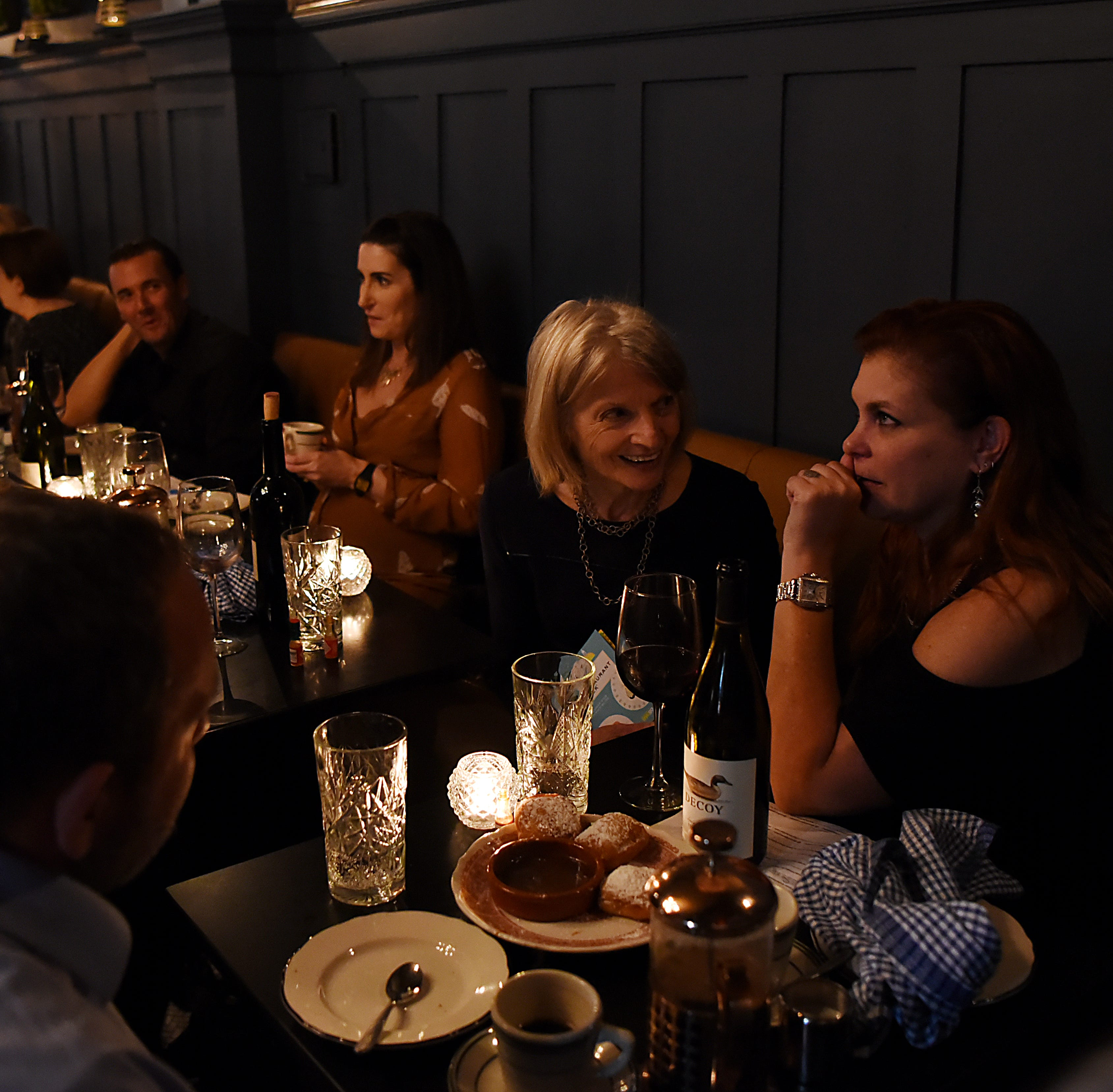 Guests get exclusive look at No. 12 in Ridgewood at Dinner With Esther