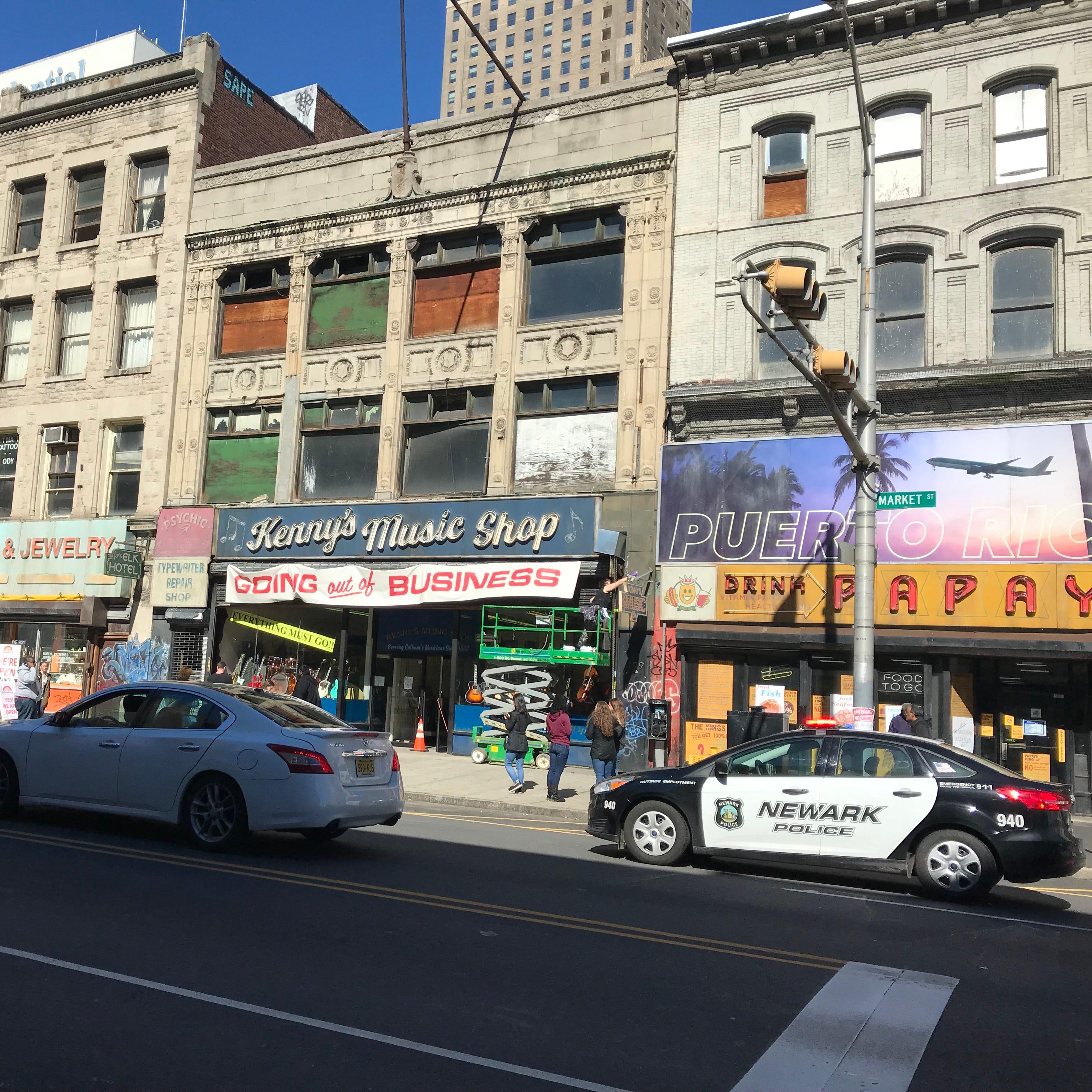 See behind-the-scenes: 'Joker' movie starring Joaquin Phoenix takes over Newark
