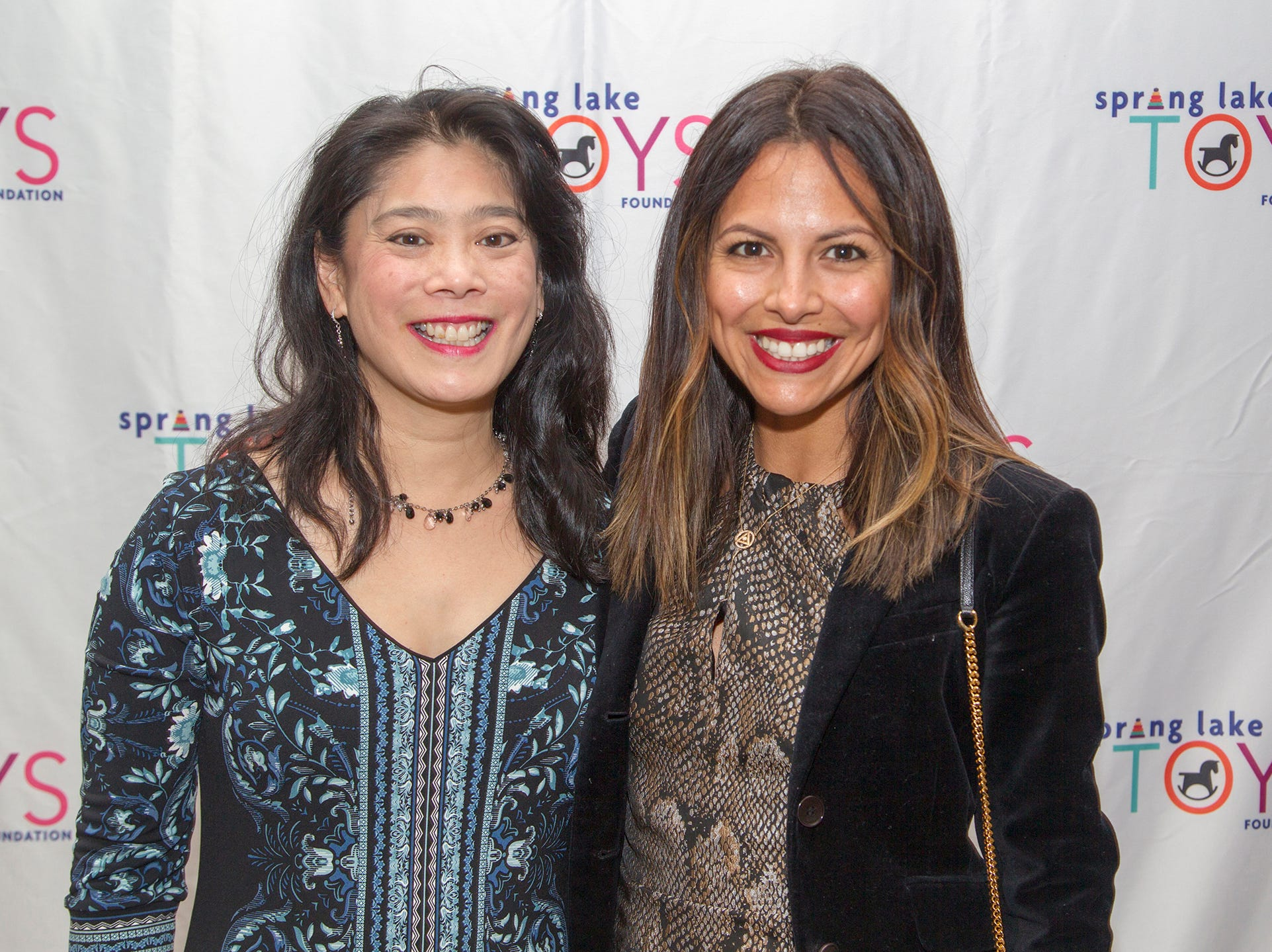 Kristine Carney, Mariel Alvarado. Spring Lake Toys Foundation held its 3rd annual fundraising gala luncheon at Indian Trail Club in Franklin Lakes. The luncheon fundraiser raises funds for children with illnesses. 10/18/2018
