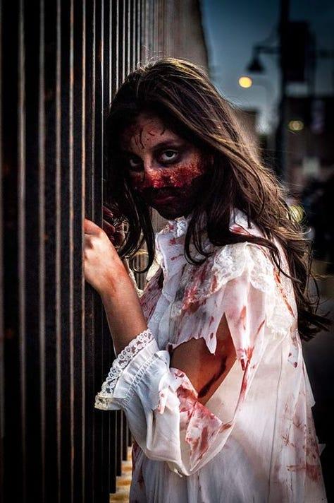 Zombie 2018 Girl