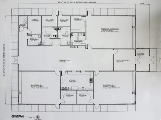Canyon Christian Academy Floor Plan