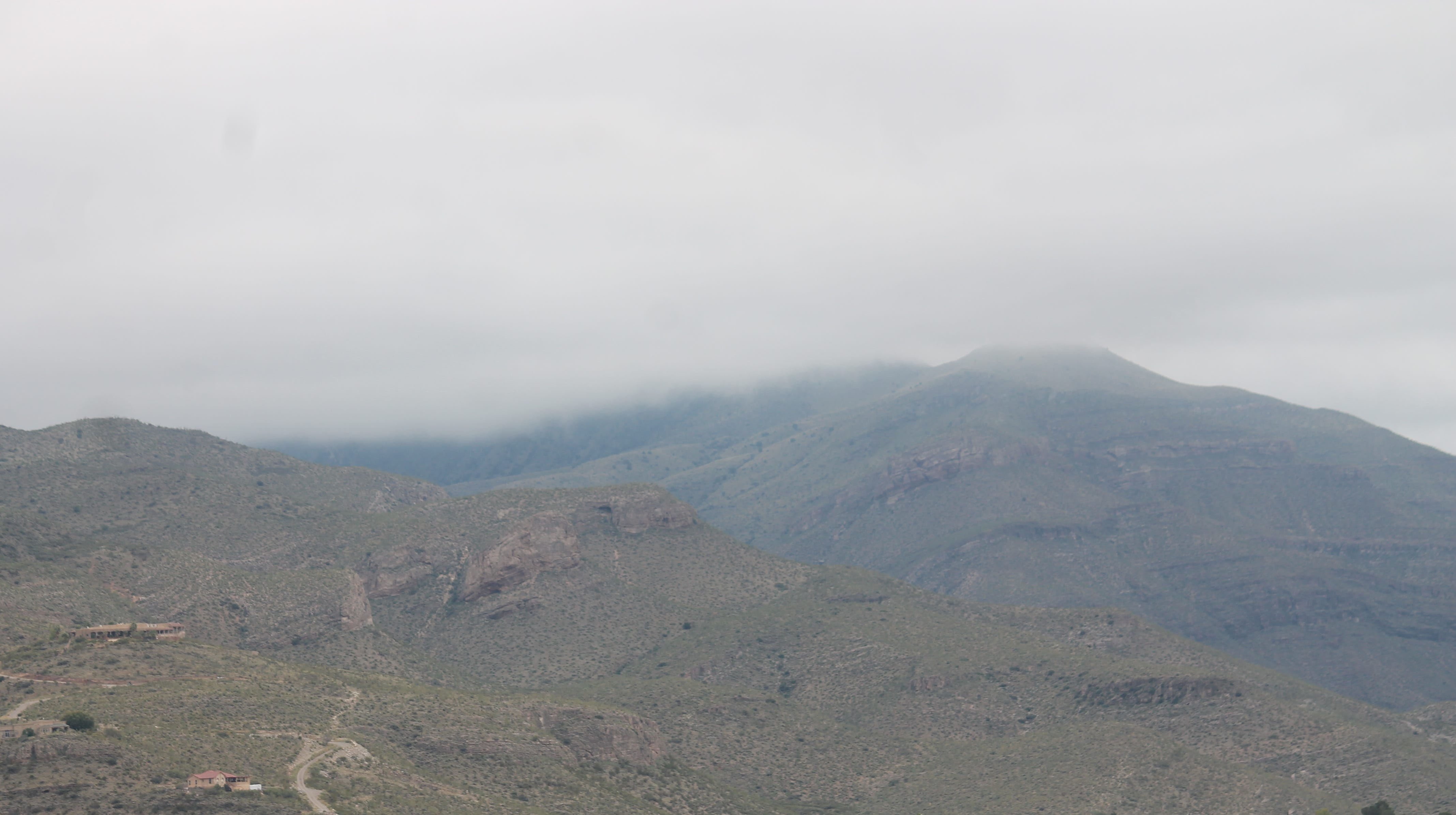 Alamogordo has had an unusually prolonged period of cloudy weather in October, National Weather Service Meteorologist Lance Tripoli said. The cloudy weather, especially on the mountains, is the result of alternating wet and dry, warm and cold weather conditions, he said.