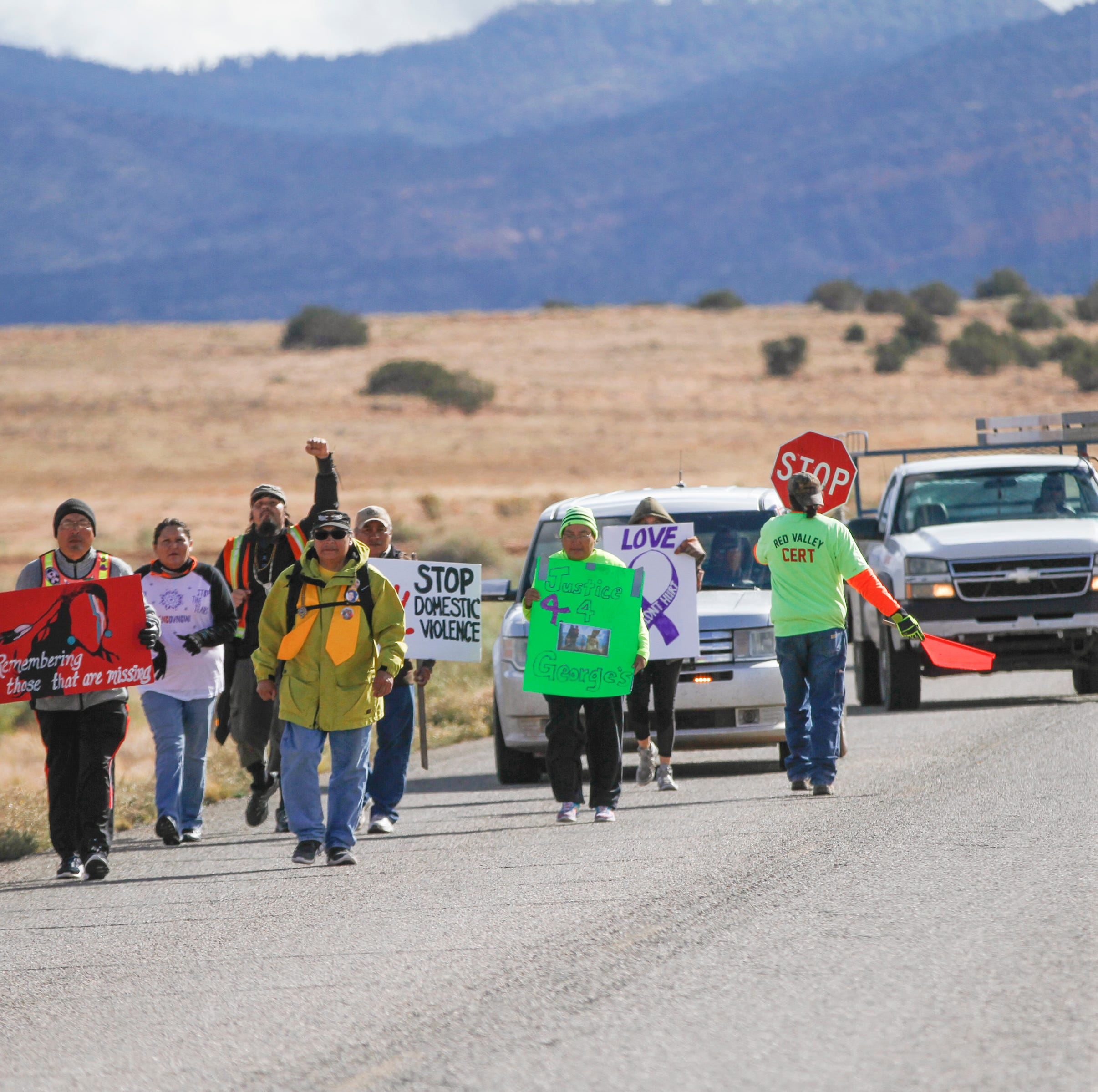 Walk focuses on missing, murdered Indigenous women