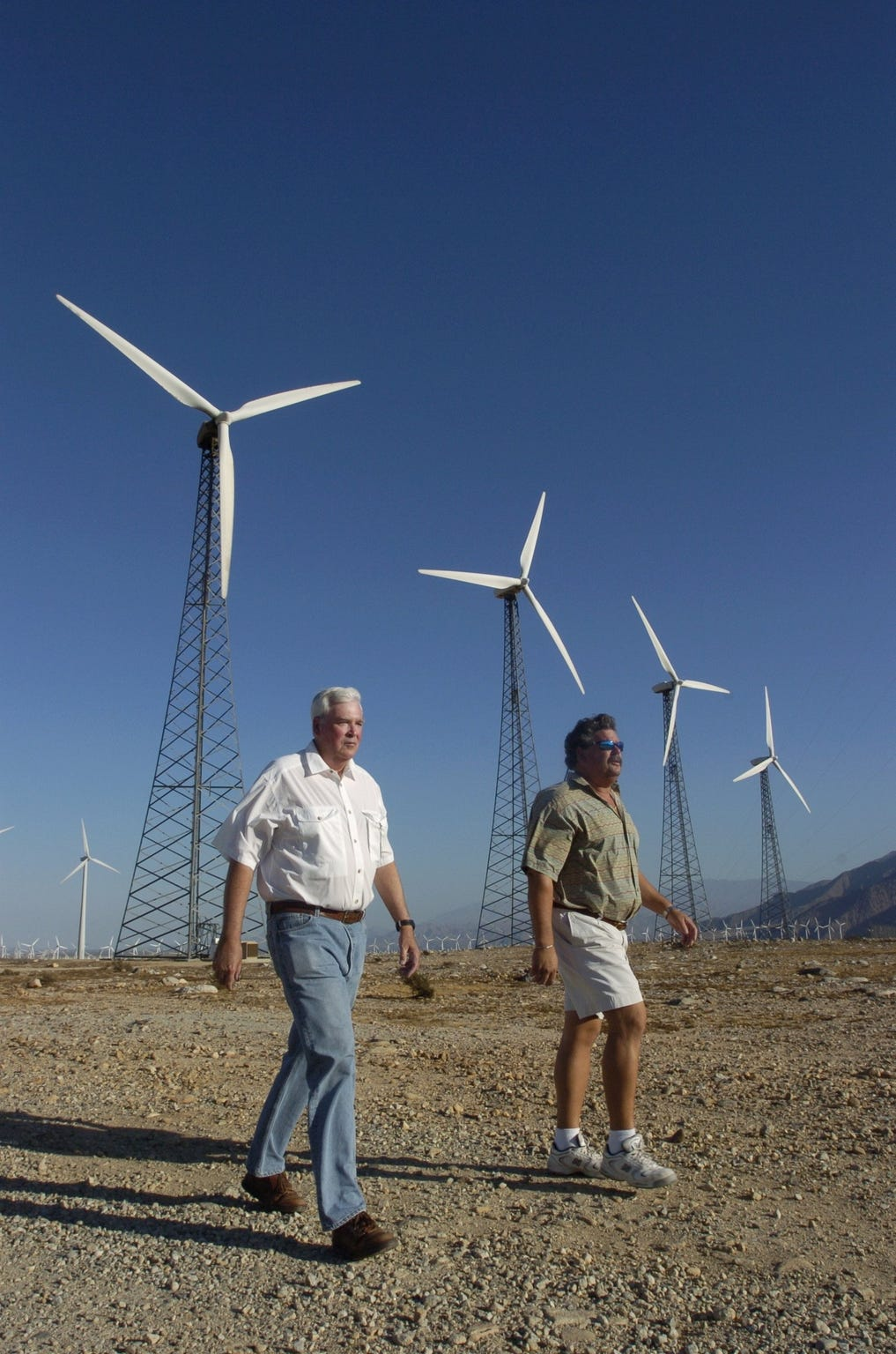 Palm Springs Iconic Wind Farms Could Change Dramatically