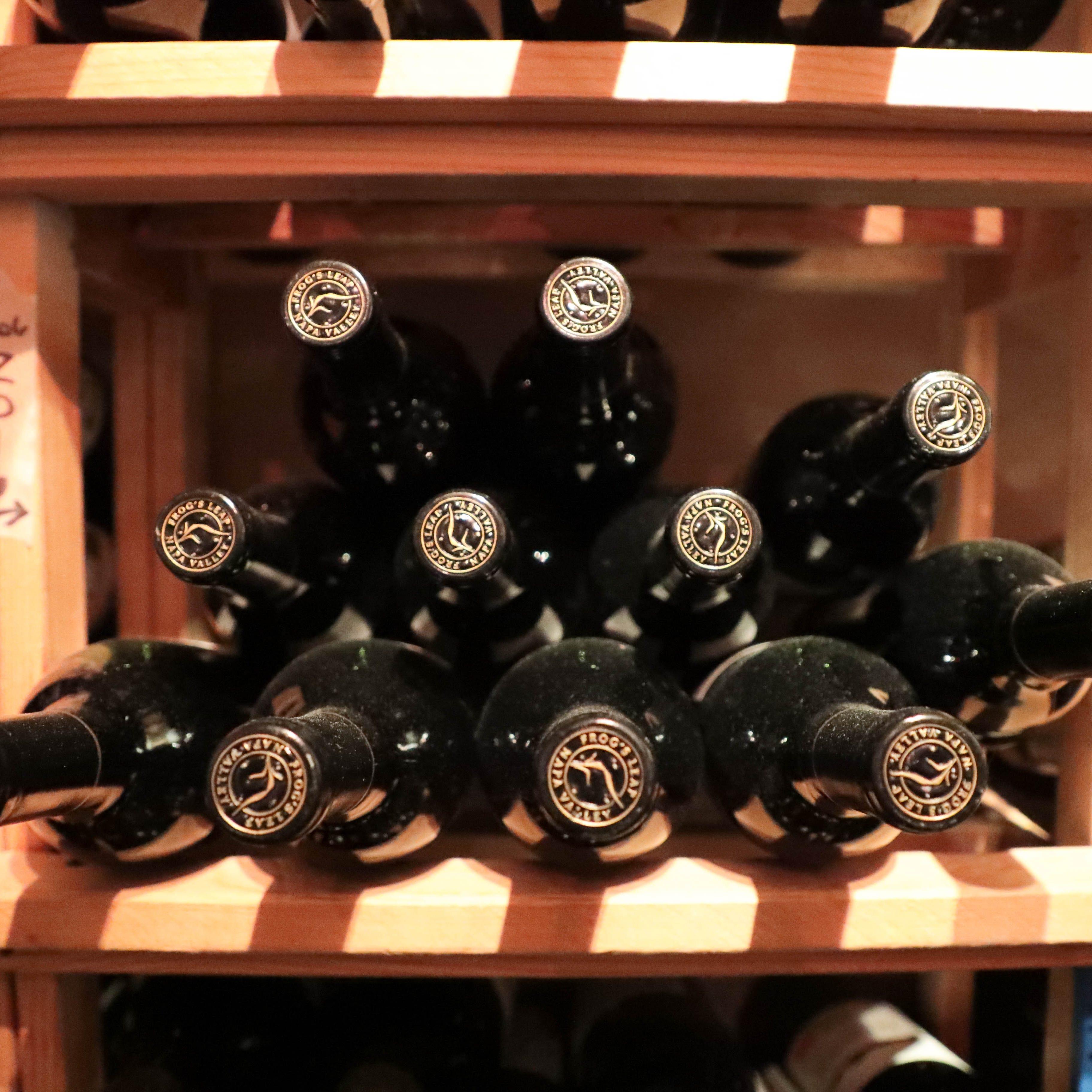 Wine + desert = complicated.