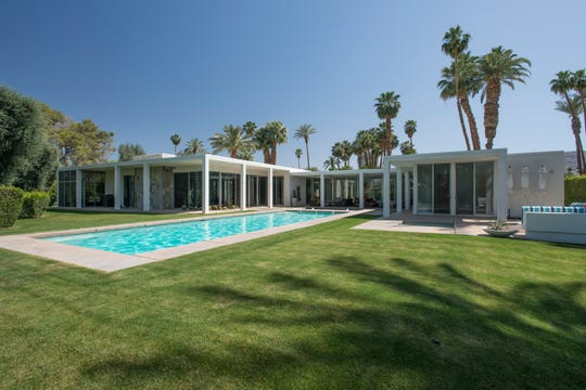 """A childhood home of producer Gale Anne Hurd on the fairway of Tamarisk Country Club is featured in the book, """"Mod Mirage: The Midcentury Architecture of Rancho Mirage"""" by Melissa Riche and Jim Riche."""
