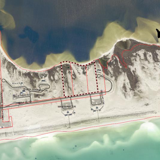 Aerial Navarre Beach