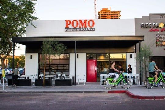 Pomo Pizzeria in downtown Phoenix