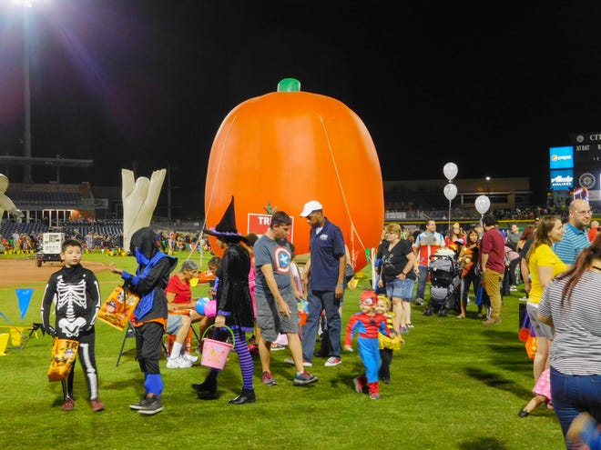 The City of Peoria's annual Monster Bash offers activities for children such as games, rides, trick-or-treating and costume contests.