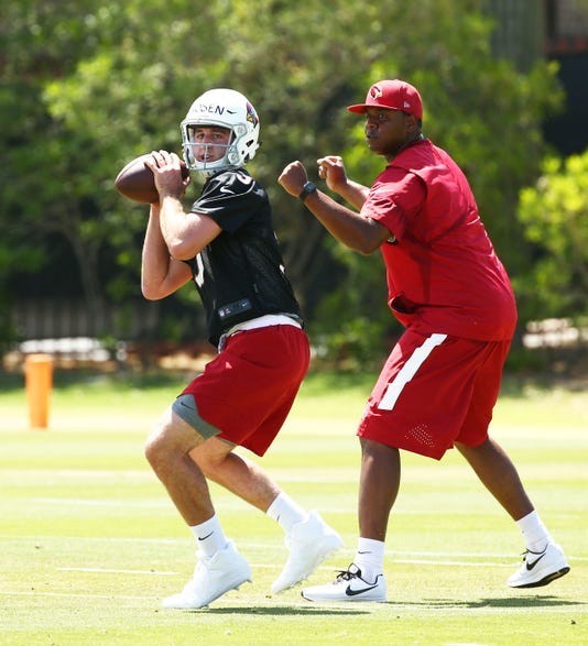 Cardinals Rookie Mini Camp Practice