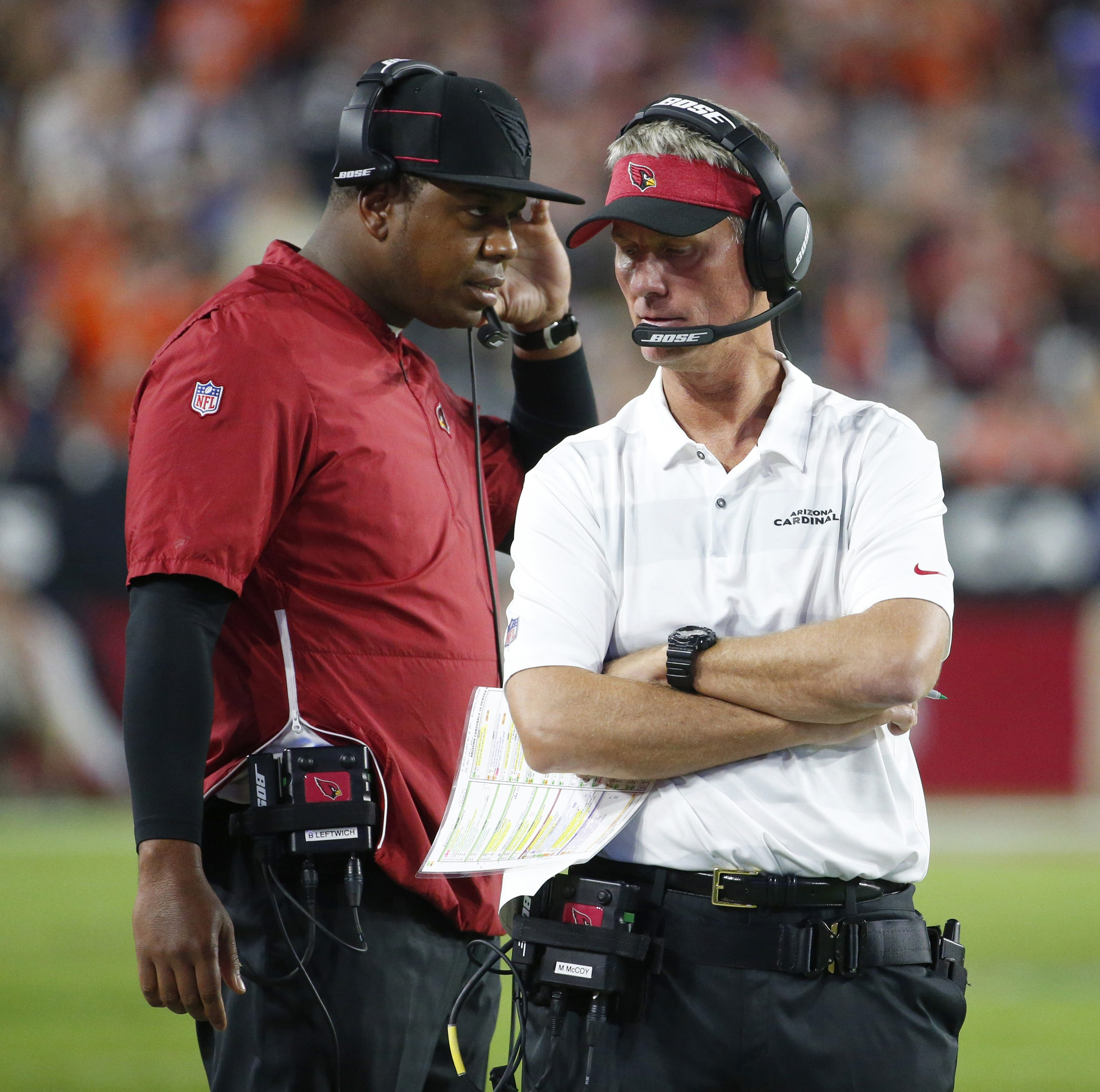 After firing of Mike McCoy, Byron Leftwich faces tough task with Arizona Cardinals