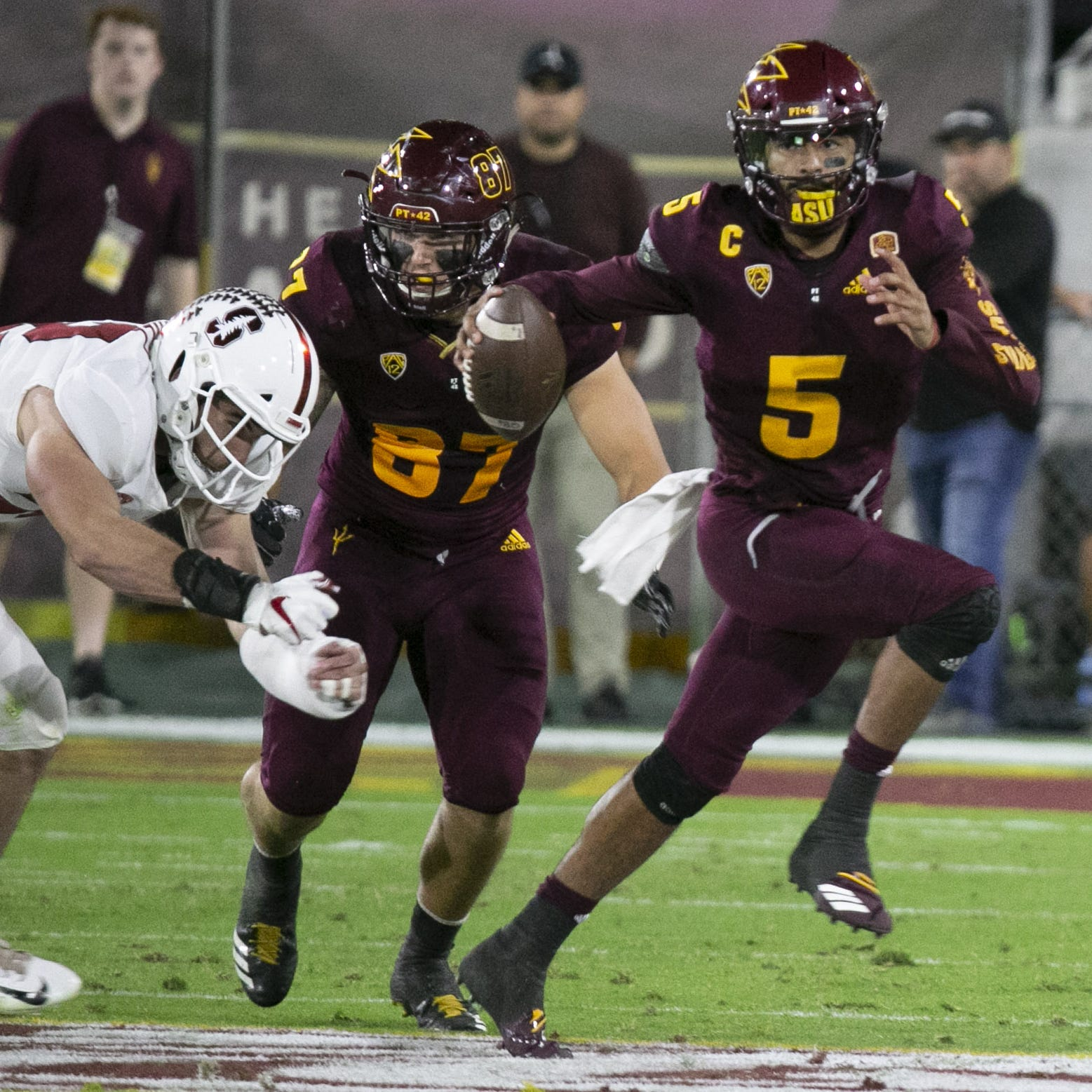Time runs out on Manny Wilkins, ASU in loss to Stanford
