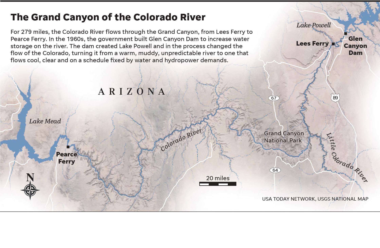 Colorado River: Grand Canyon rafting trip reveals river in peril