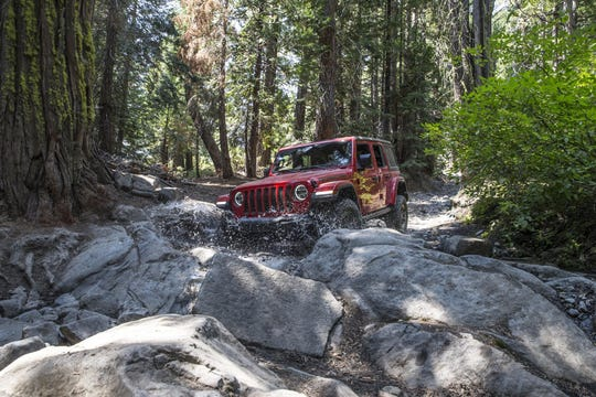 El nuevo Jeep Wrangler se puso a prueba en el Rubicon Trail