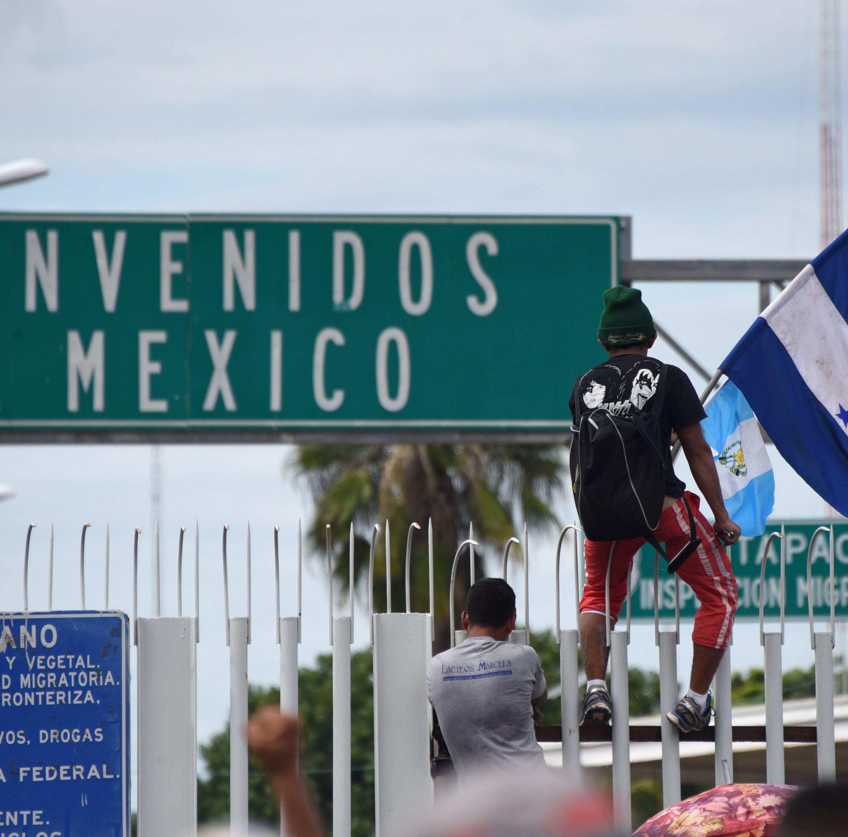 México envía agentes a frontera con Guatemala